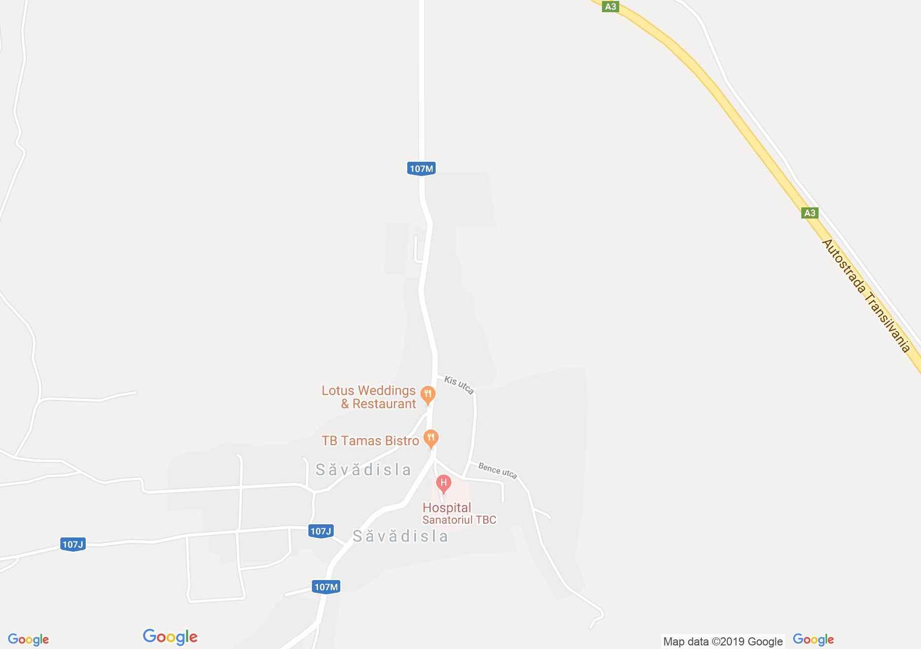 Tordaszentlászló: Tájház, falumúzeum (térkép)