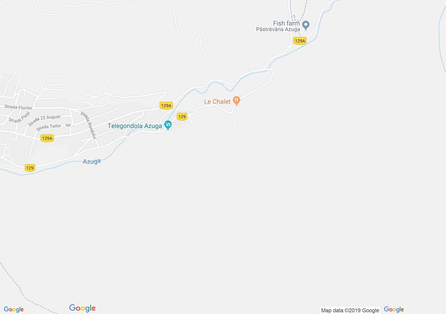 Hartă Azuga: Pârtia Şorica