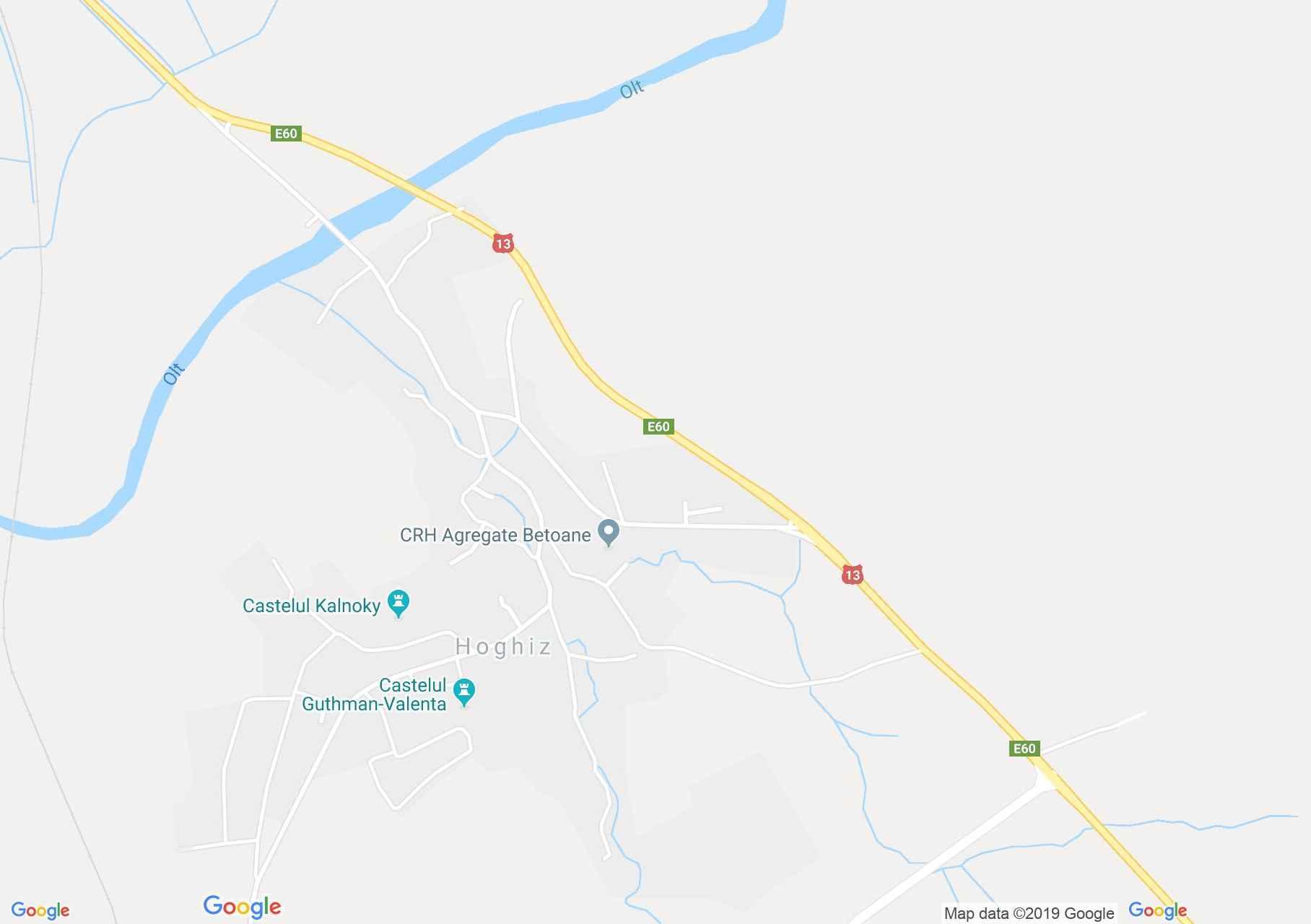 Olthéviz: Unitárius templom (térkép)