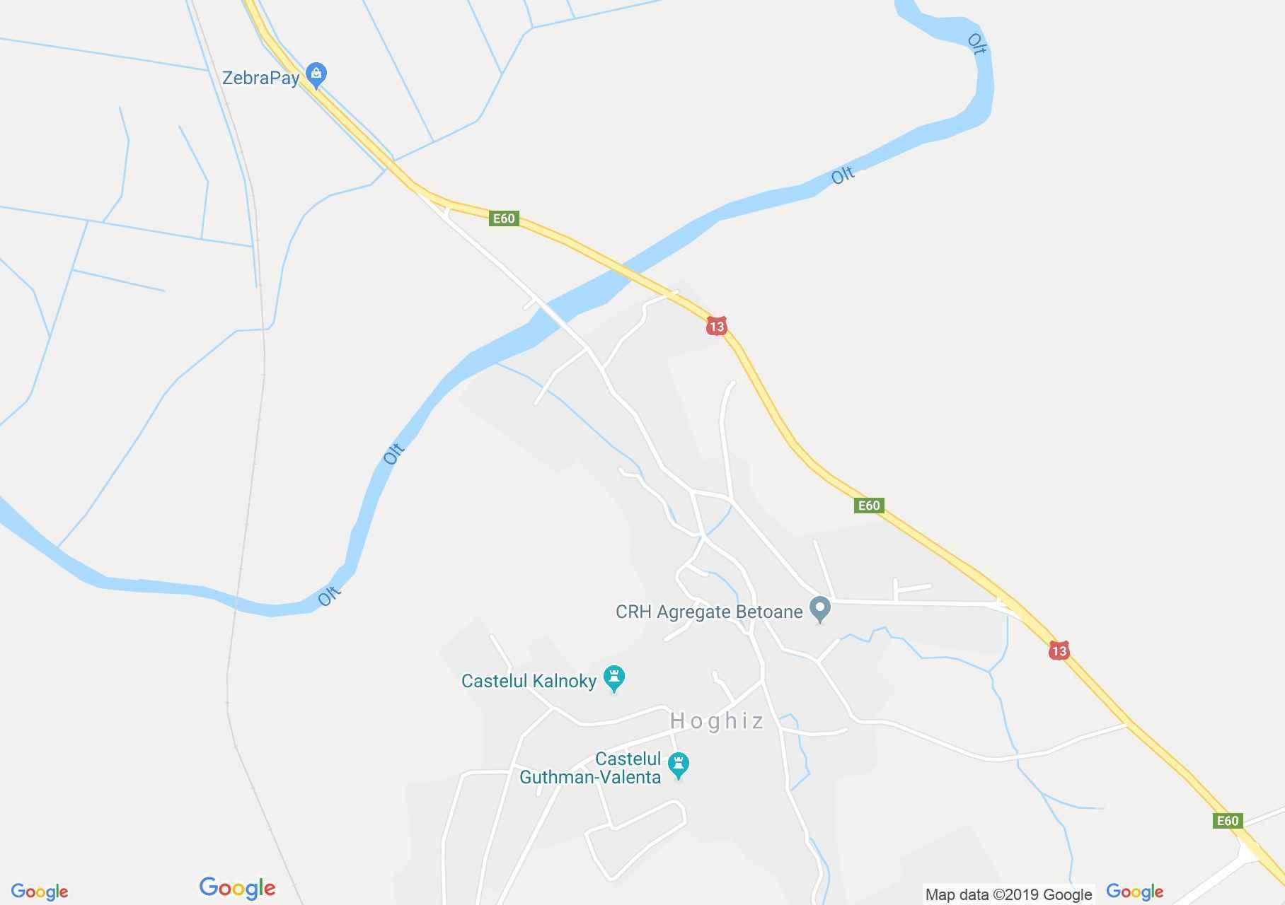 Olthéviz: Bethlen-Haller vár (térkép)
