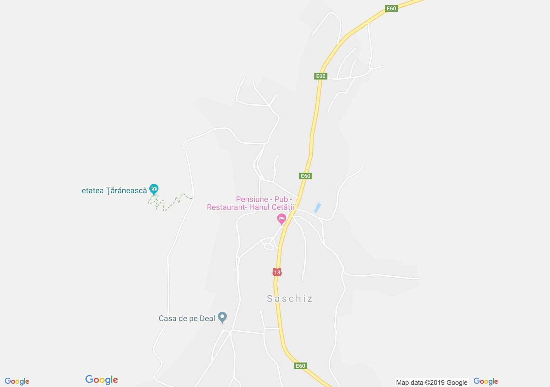 Szászkézd (térkép)