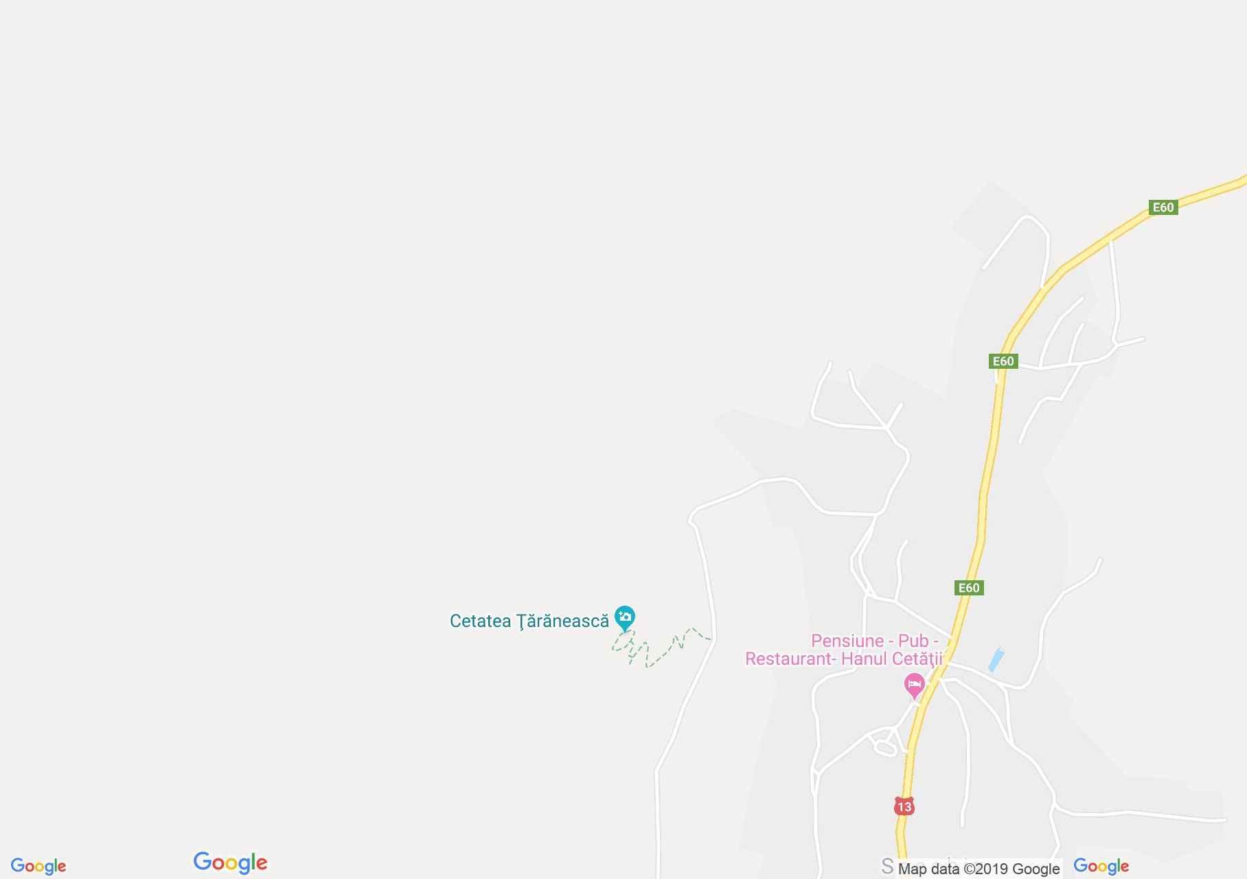 Hartă Saschiz: Cetatea