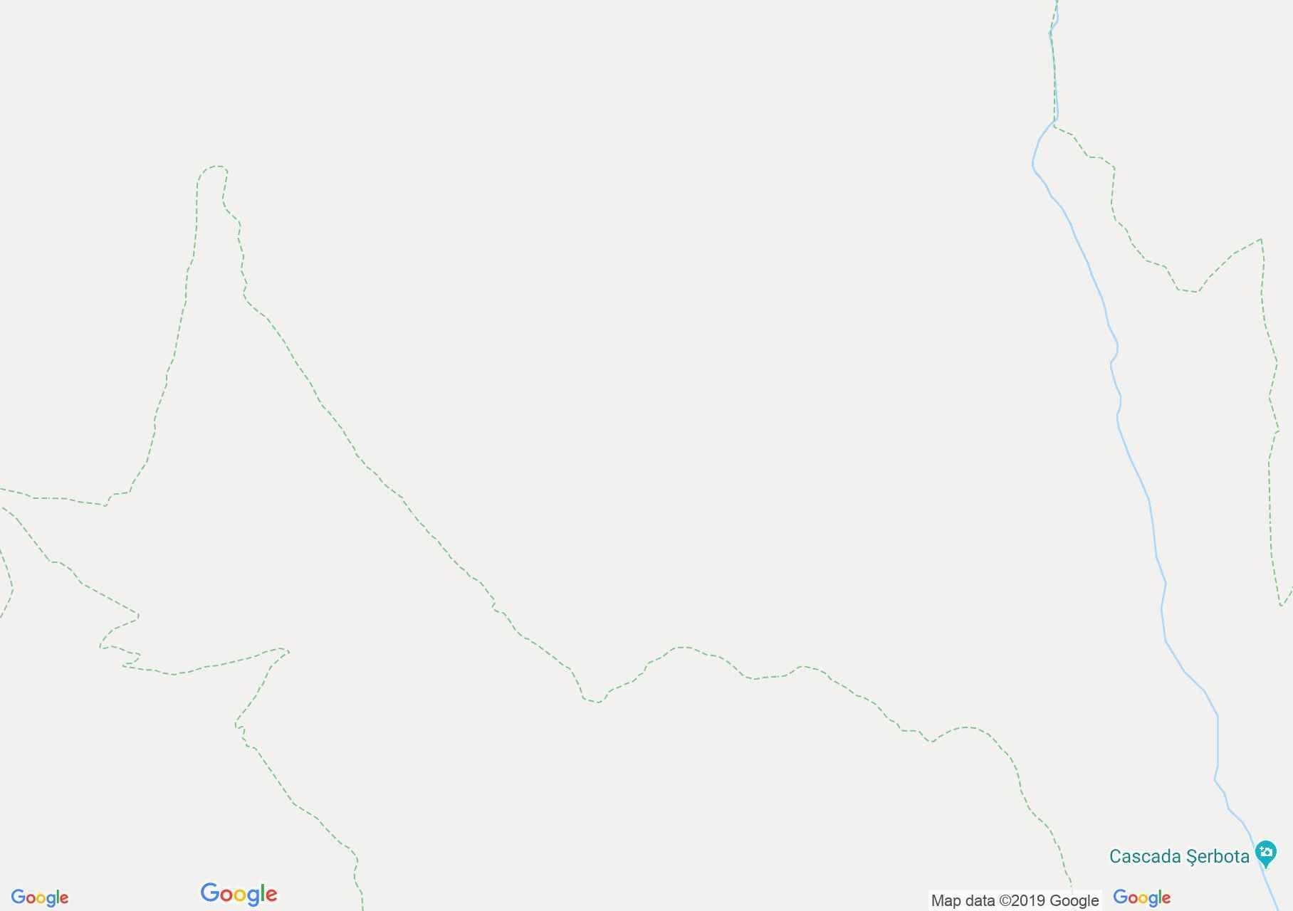 Hartă Munţii Făgăraş: Cabana Negoiu-Cabana Bărcaciu