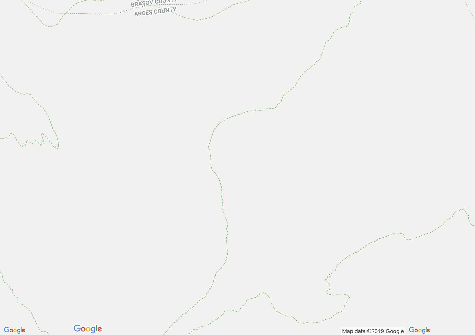 Fogarasi havasok: Orzanele vízesés (térkép)