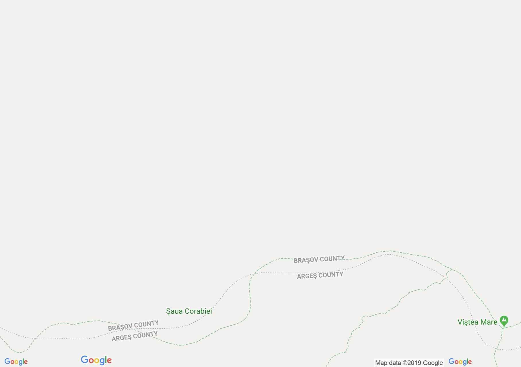 Map of Făgăraş mountains: Fereastra Mare a Sâmbetei - Podragu saddle