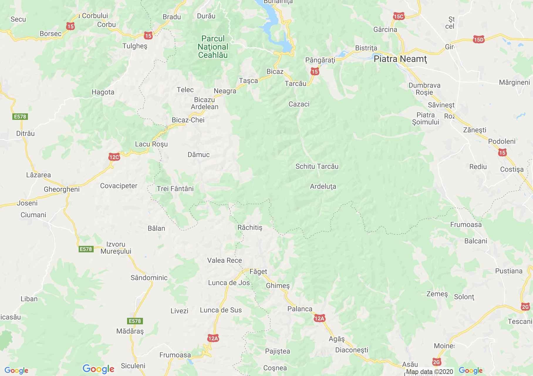 Hartă Folclor: Portul popular din Ghimeş