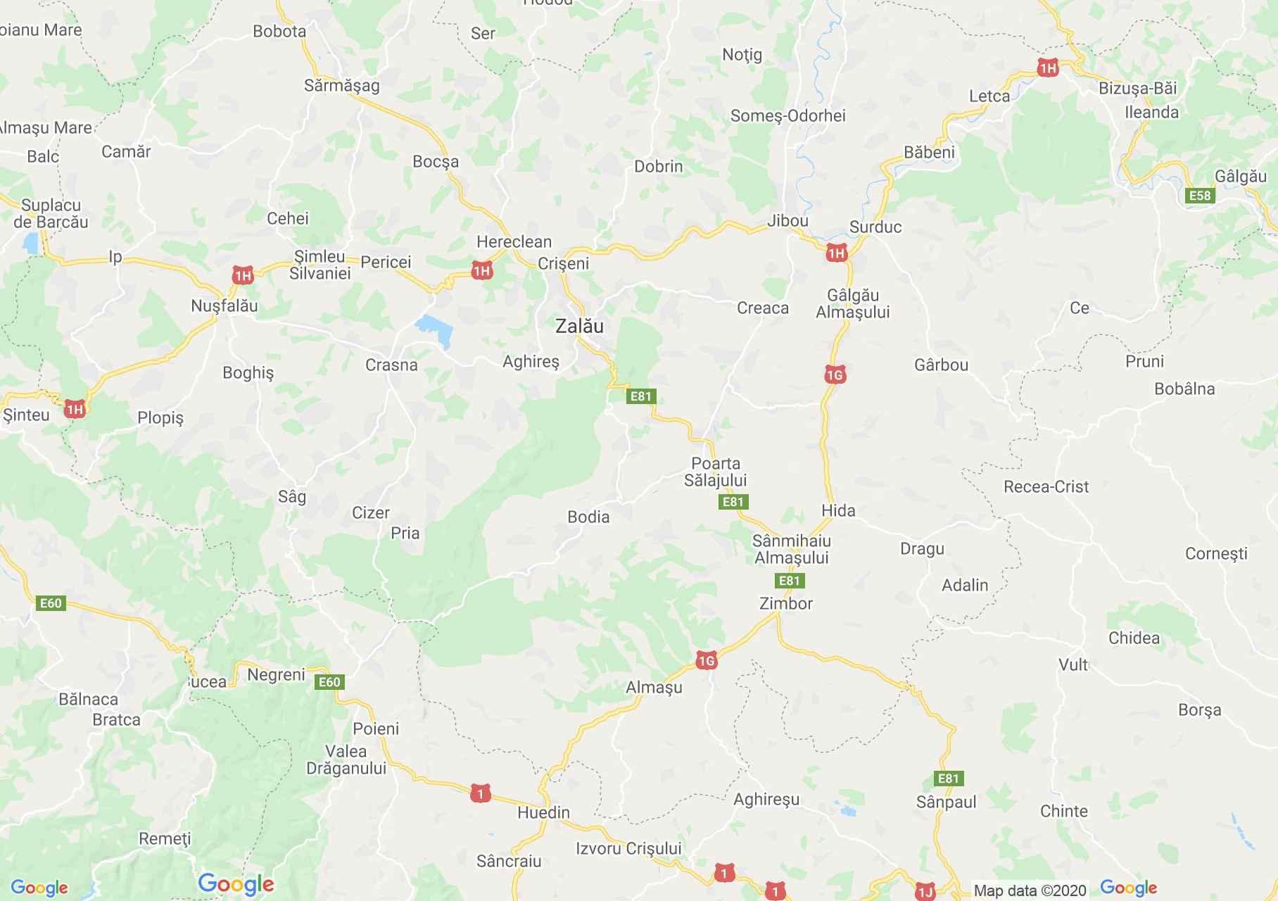 Folklor: Zsobok - Kalotaszegi népviselet  (térkép)
