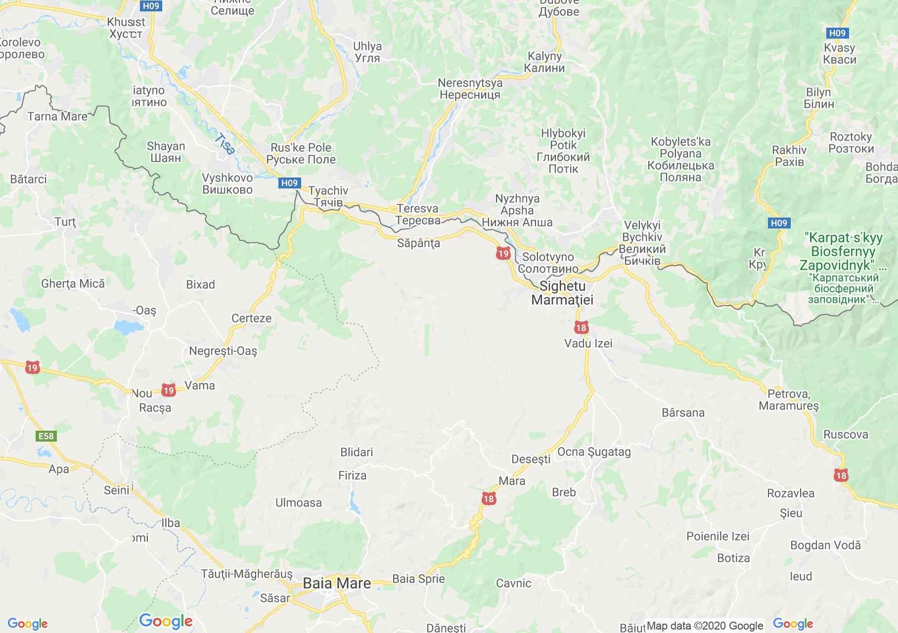 Folklor: Máramarosi népviselet  (térkép)