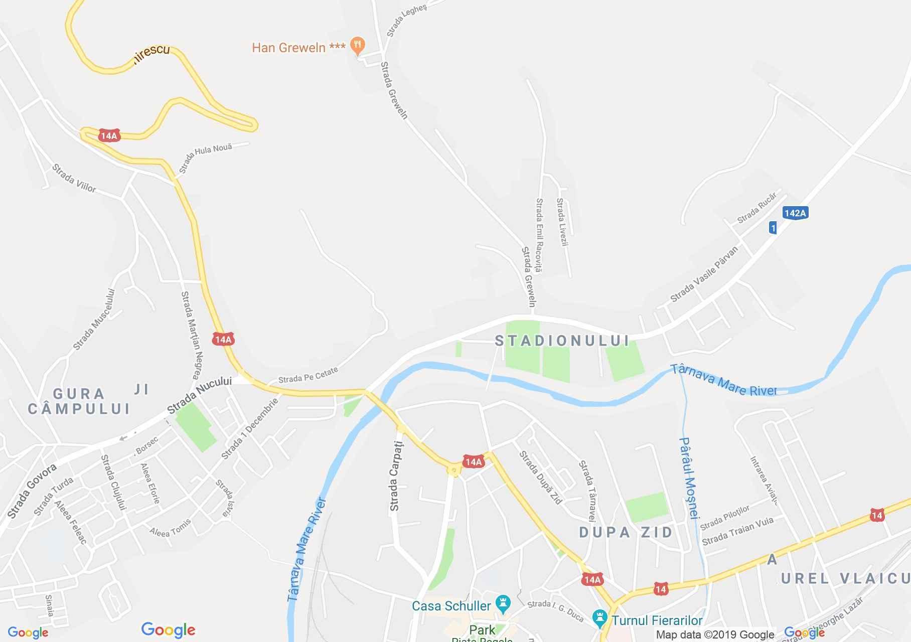 Medgyes: Steingasser torony (térkép)