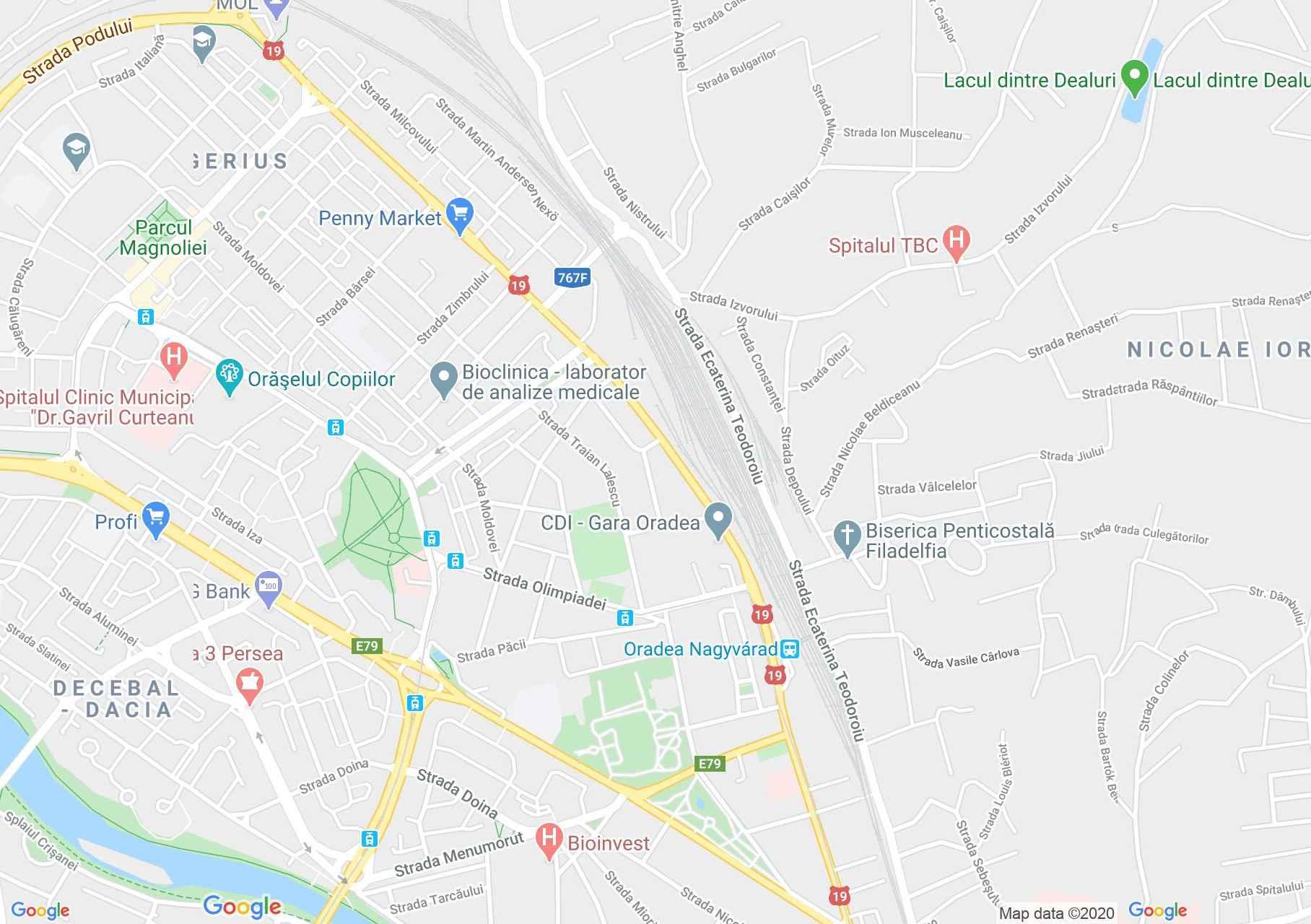 Nagyvárad: Római katolikus bazilika múzeuma (térkép)