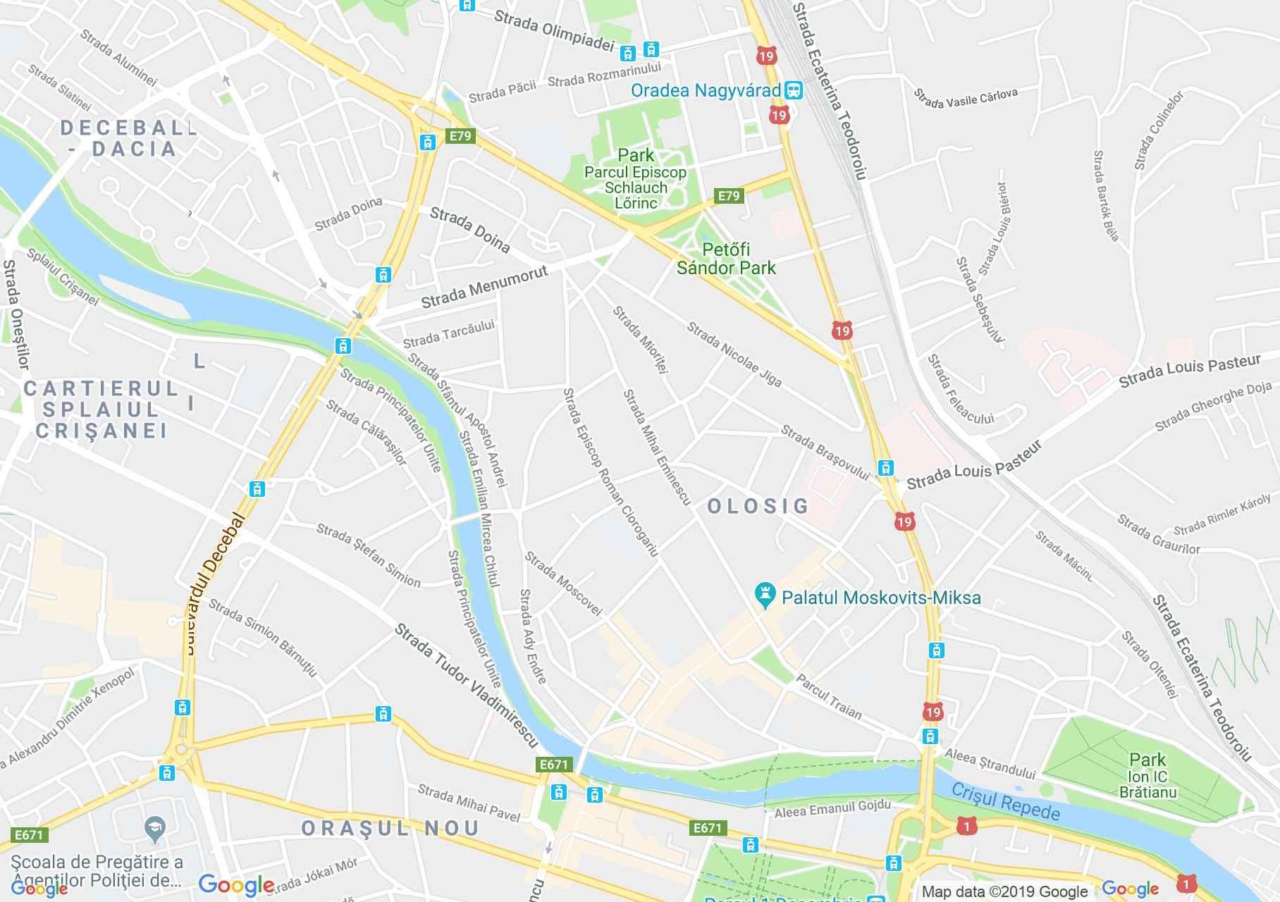 Nagyvárad: Adorján ház I. (térkép)