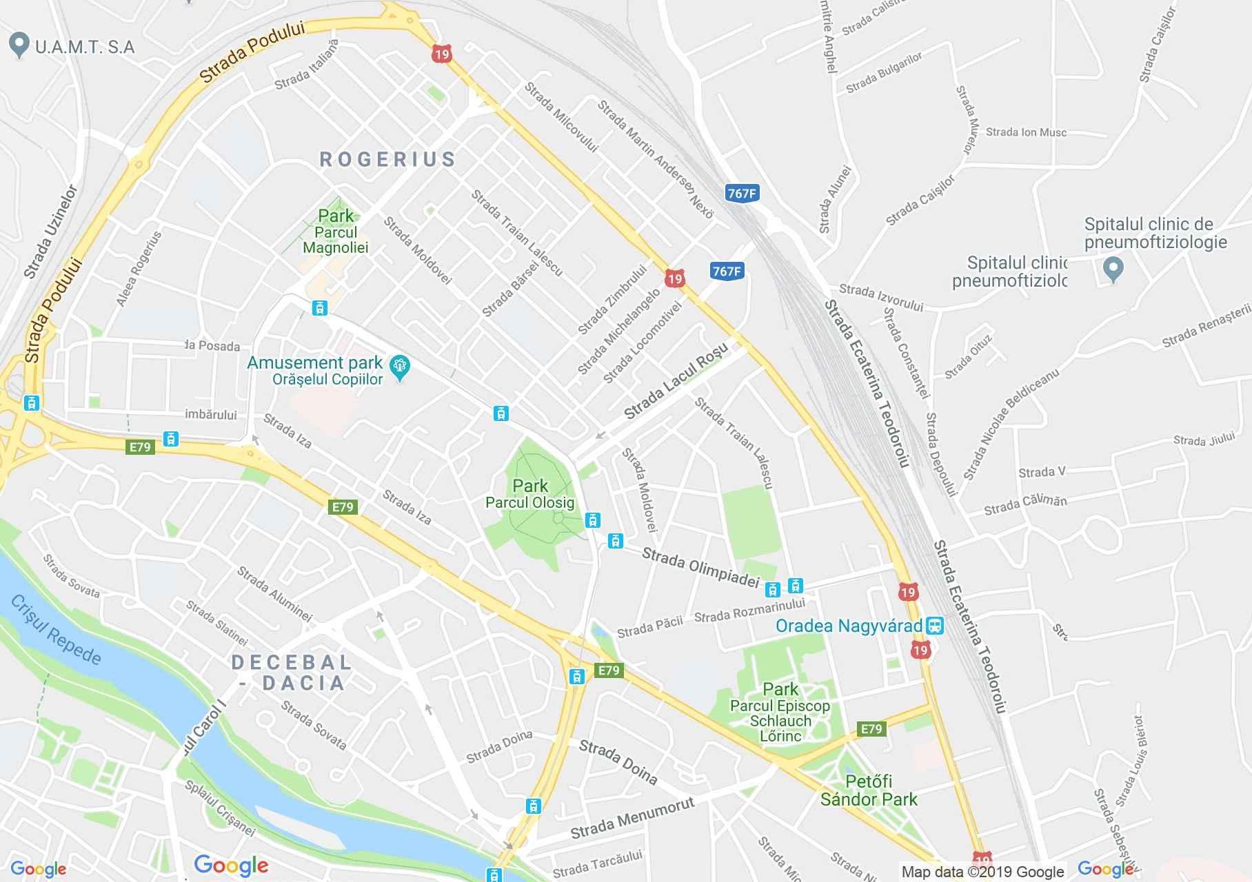 Nagyvárad: Casa BIM (térkép)