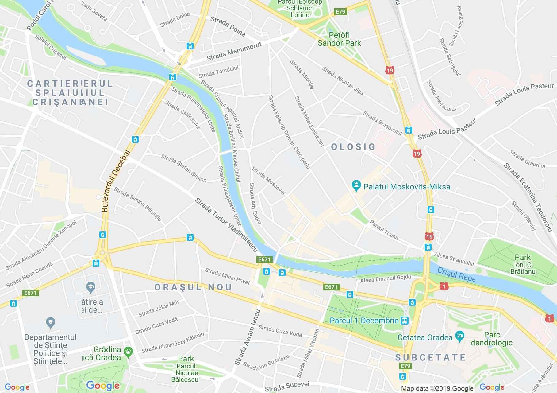 Hartă Oradea: Casa Deutsch