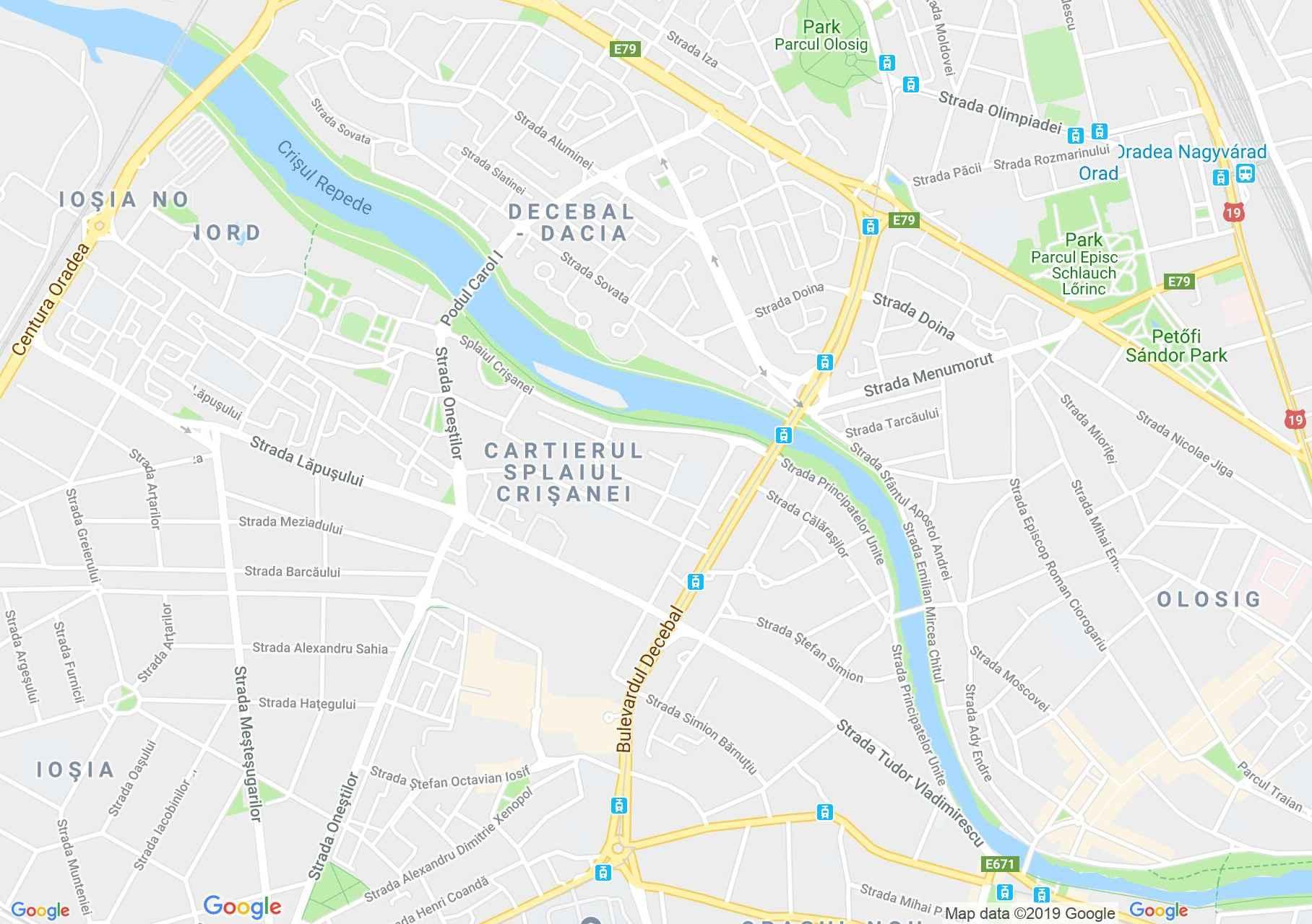 Hartă Oradea: Cofetăria Scala