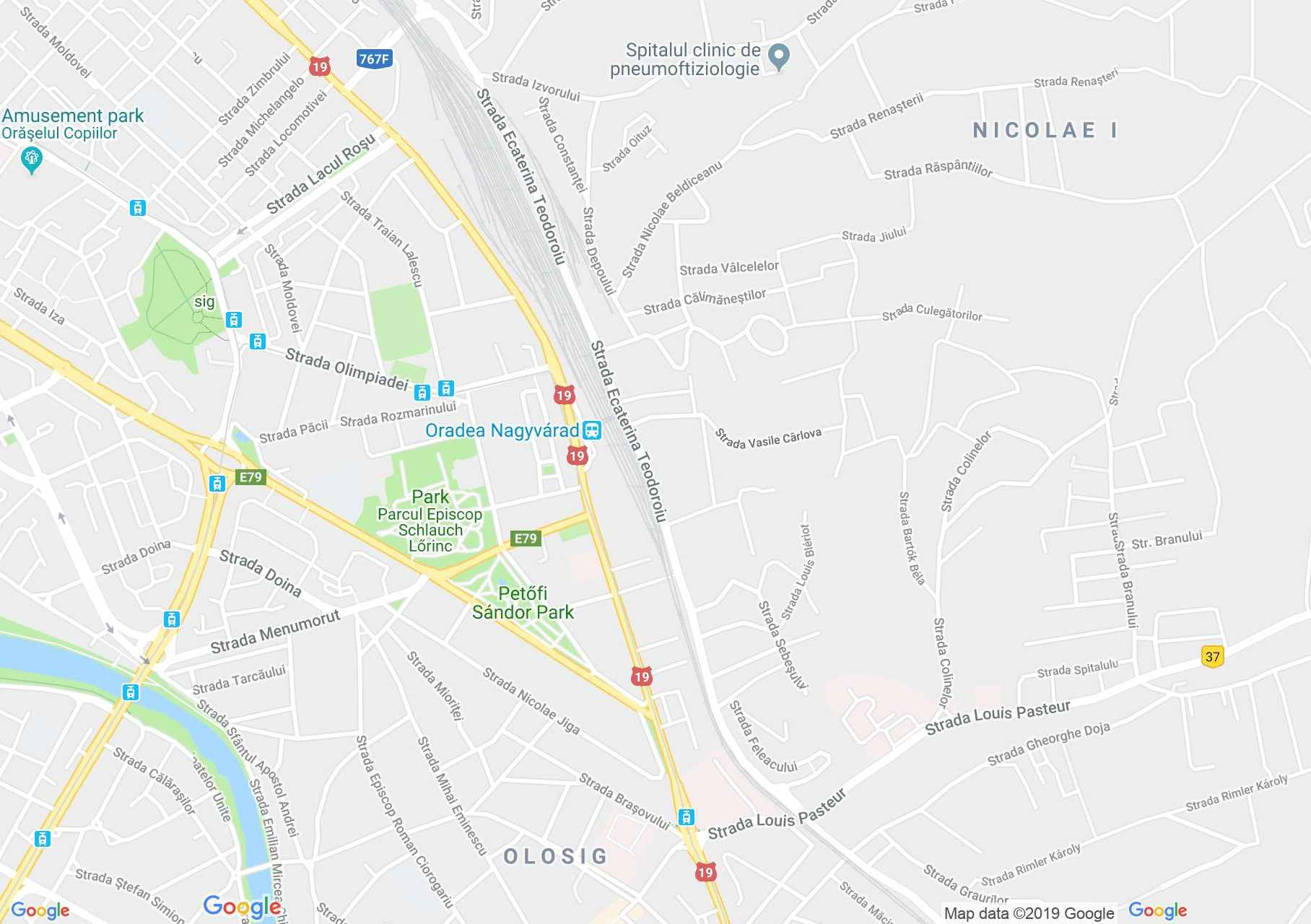 Map of Oradea: Hotel Carnival