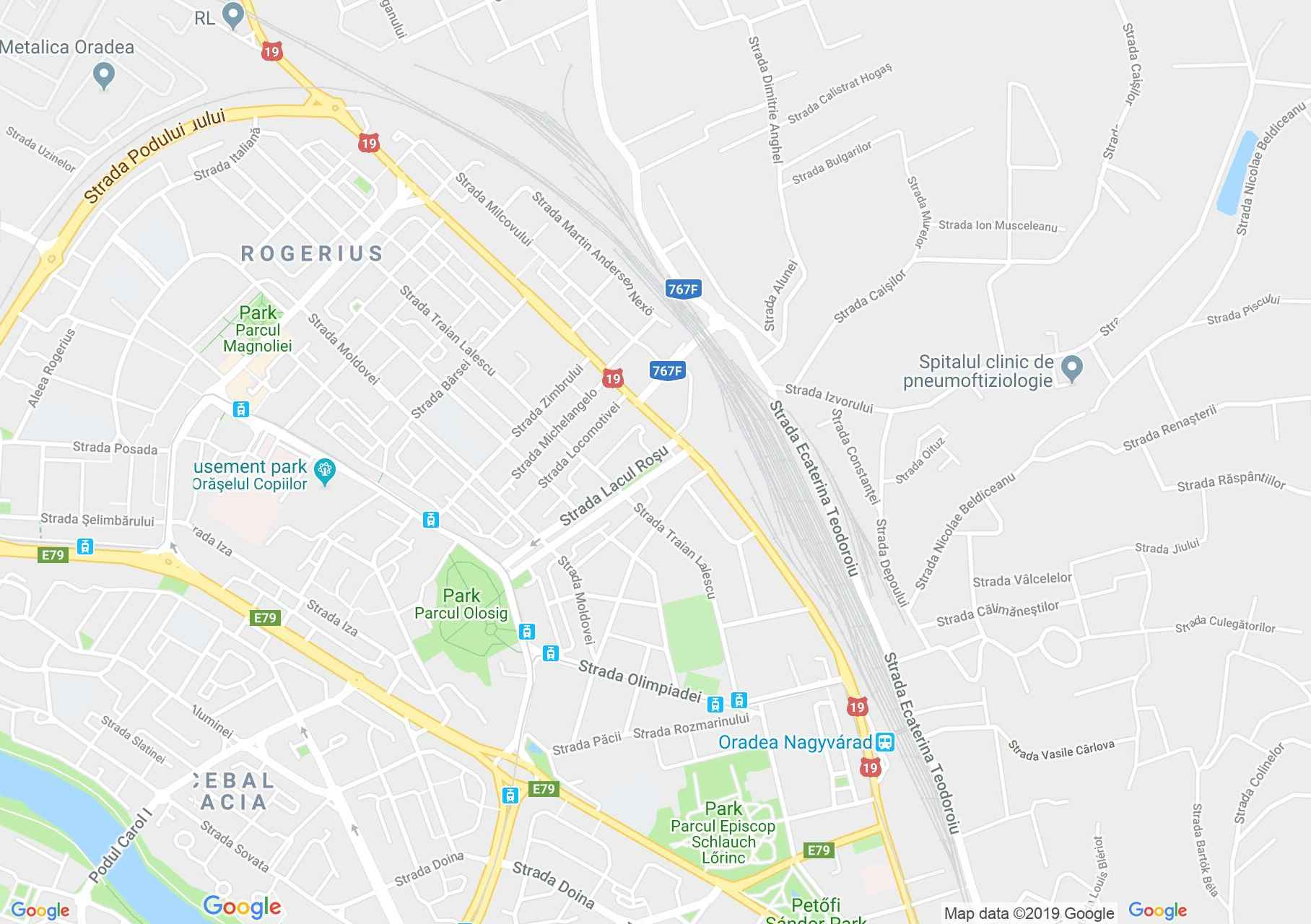 Map of Oradea: Hotel Eden