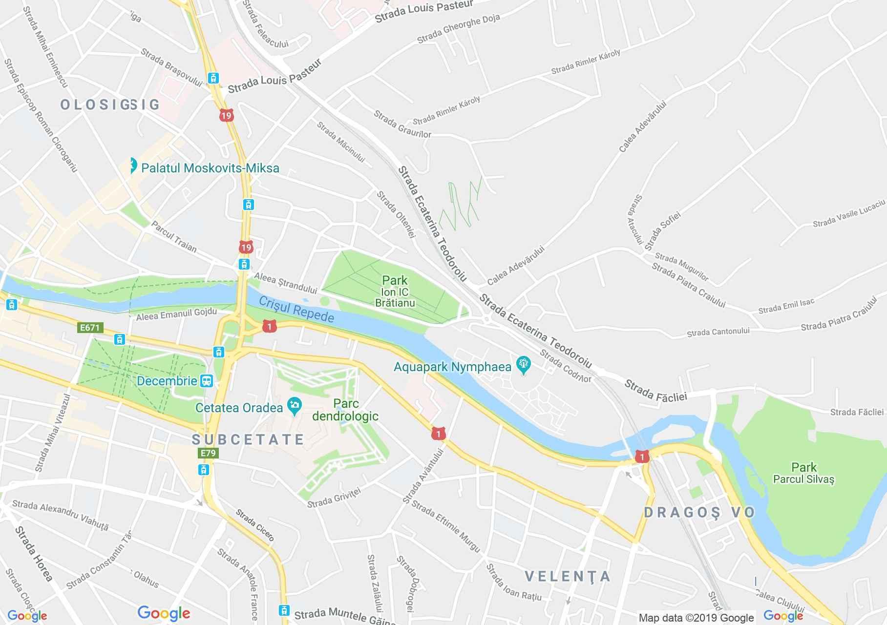 Hartă Oradea: Han Góbé