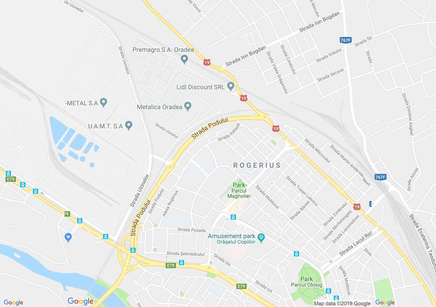 Nagyvárad: Hotel Melody (térkép)