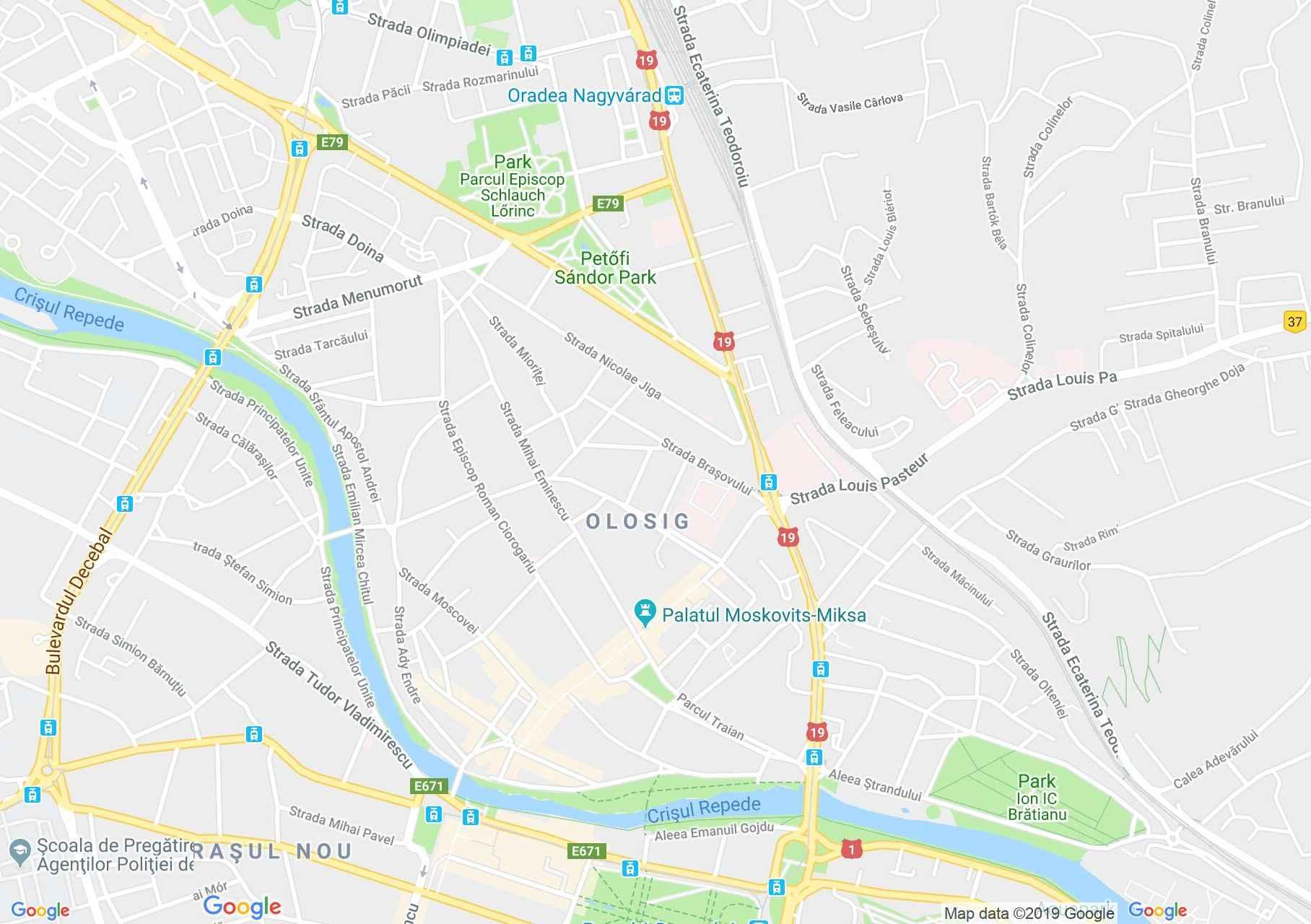 Nagyvárad: Ady Endre emlékmúzeum (térkép)