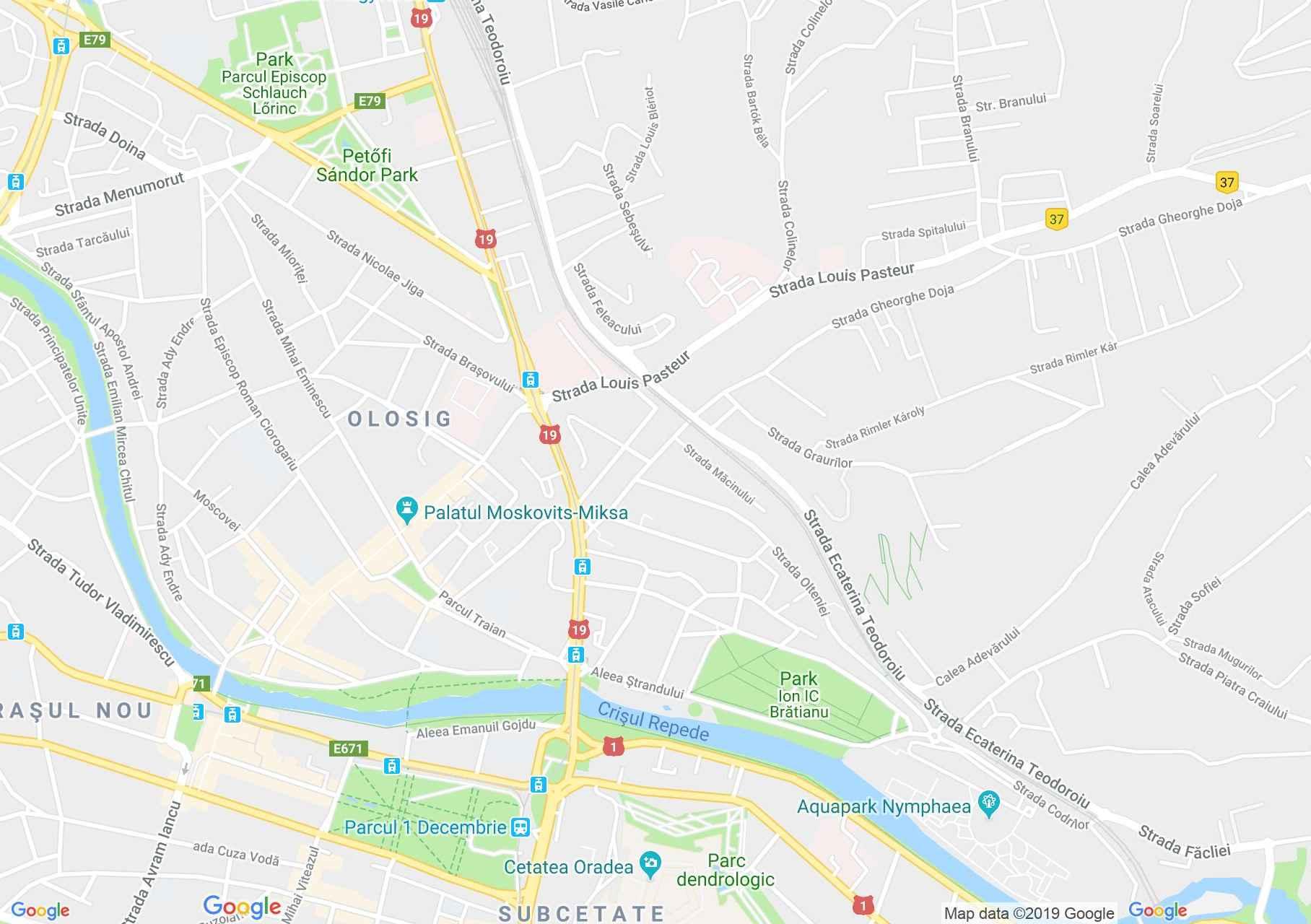 Nagyvárad: Royal étterem (térkép)