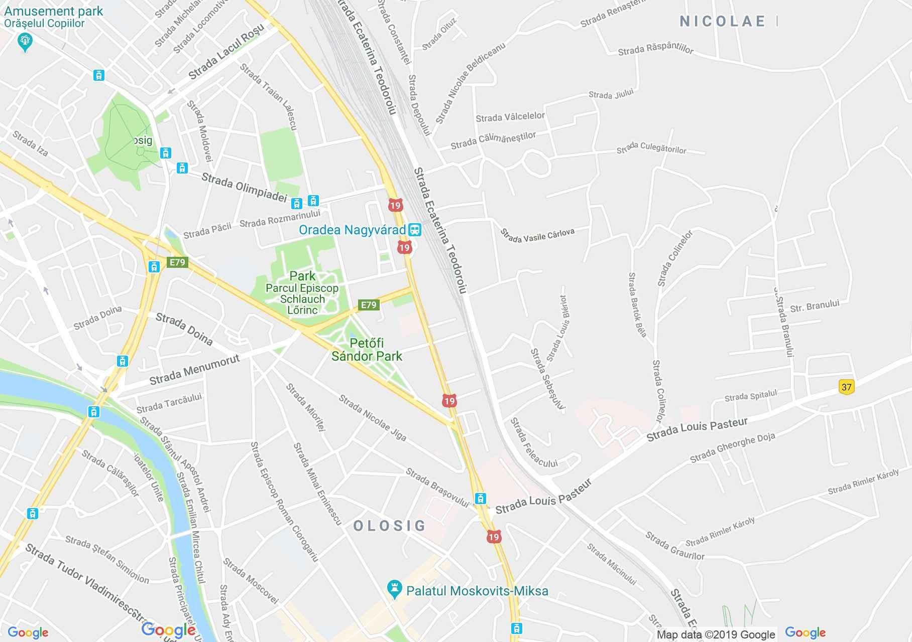 Map of Oradea: Restaurant Underground