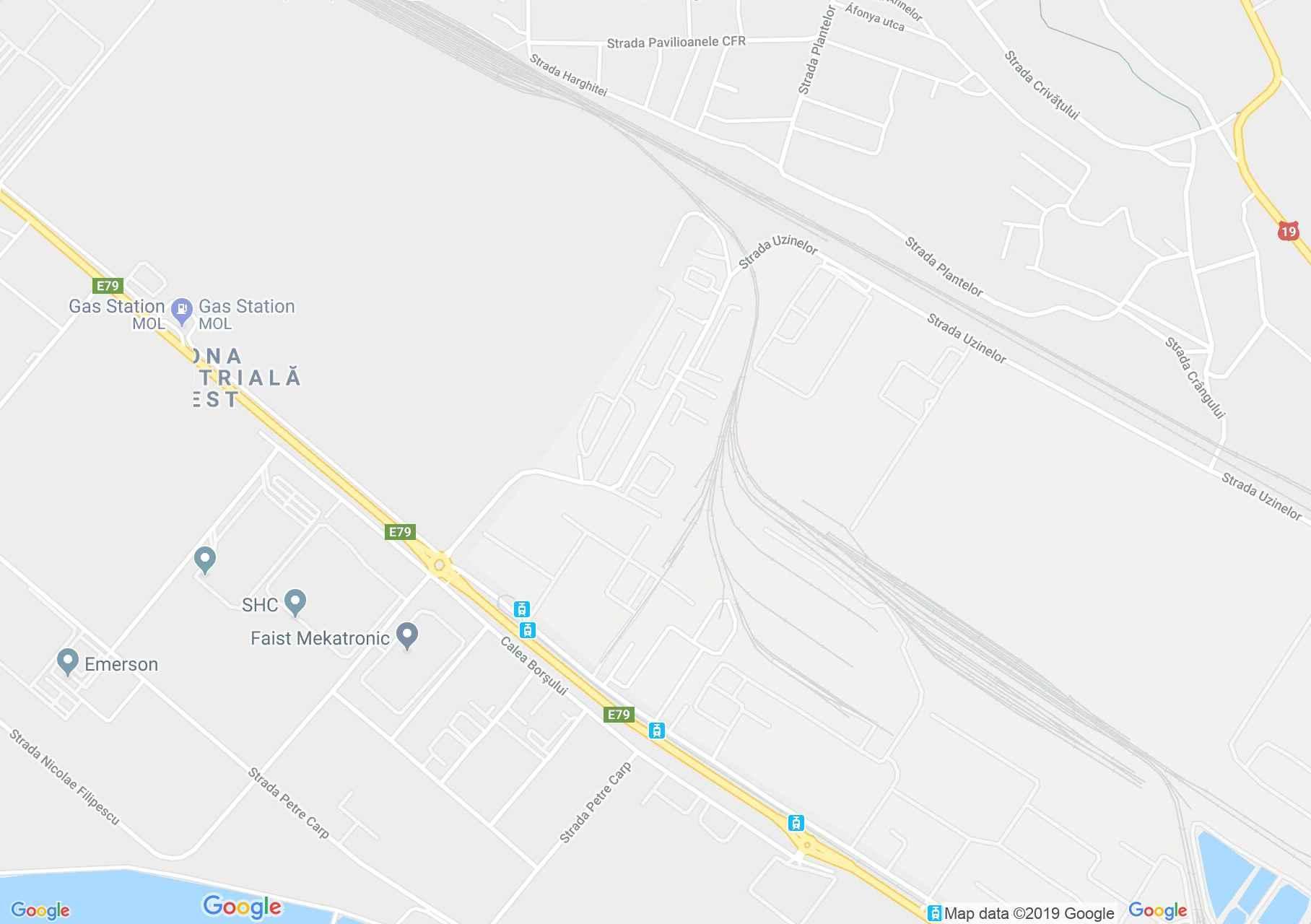 Hartă Oradea: Romcolor SA