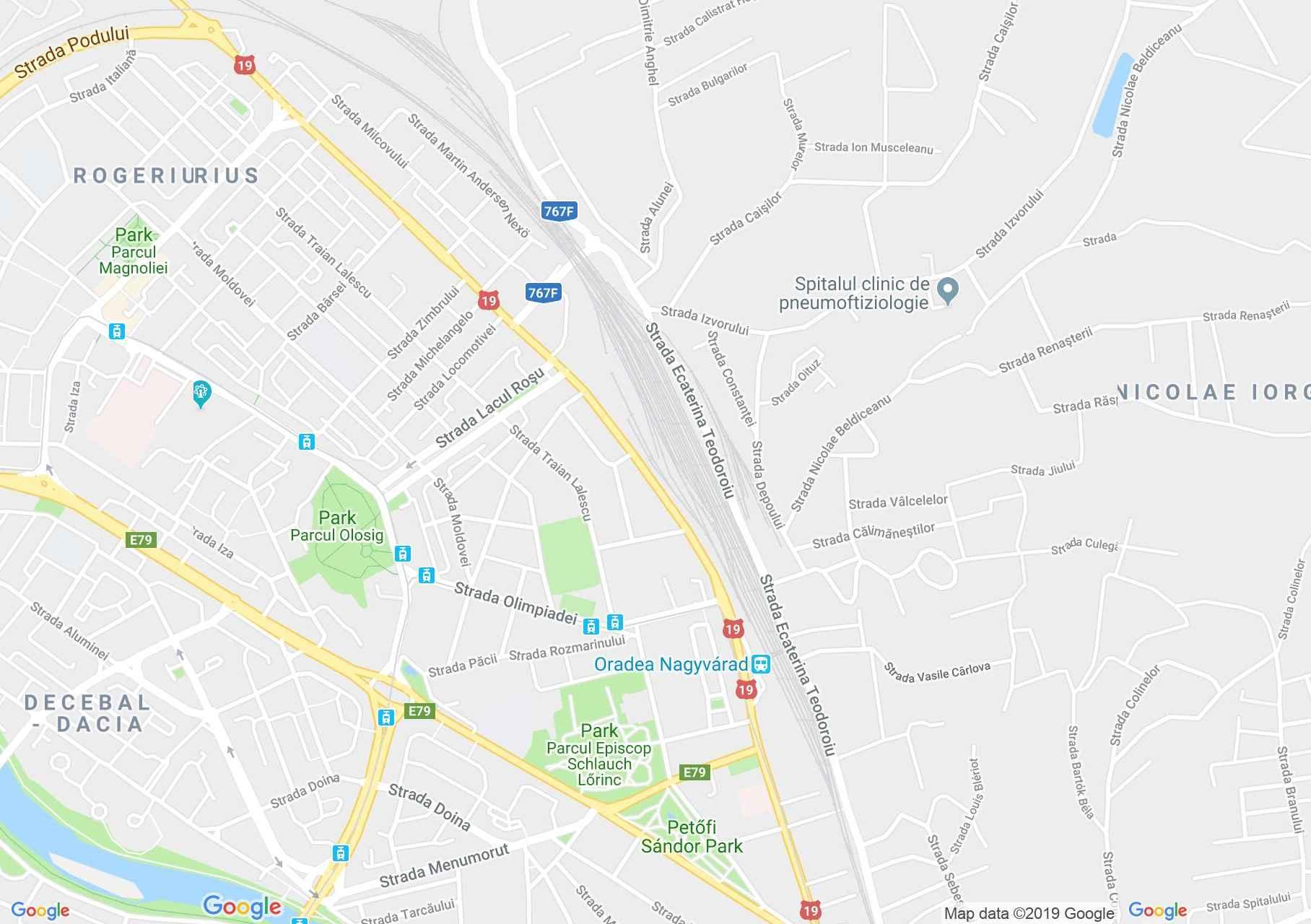 Hartă Oradea: Şirul canonicilor
