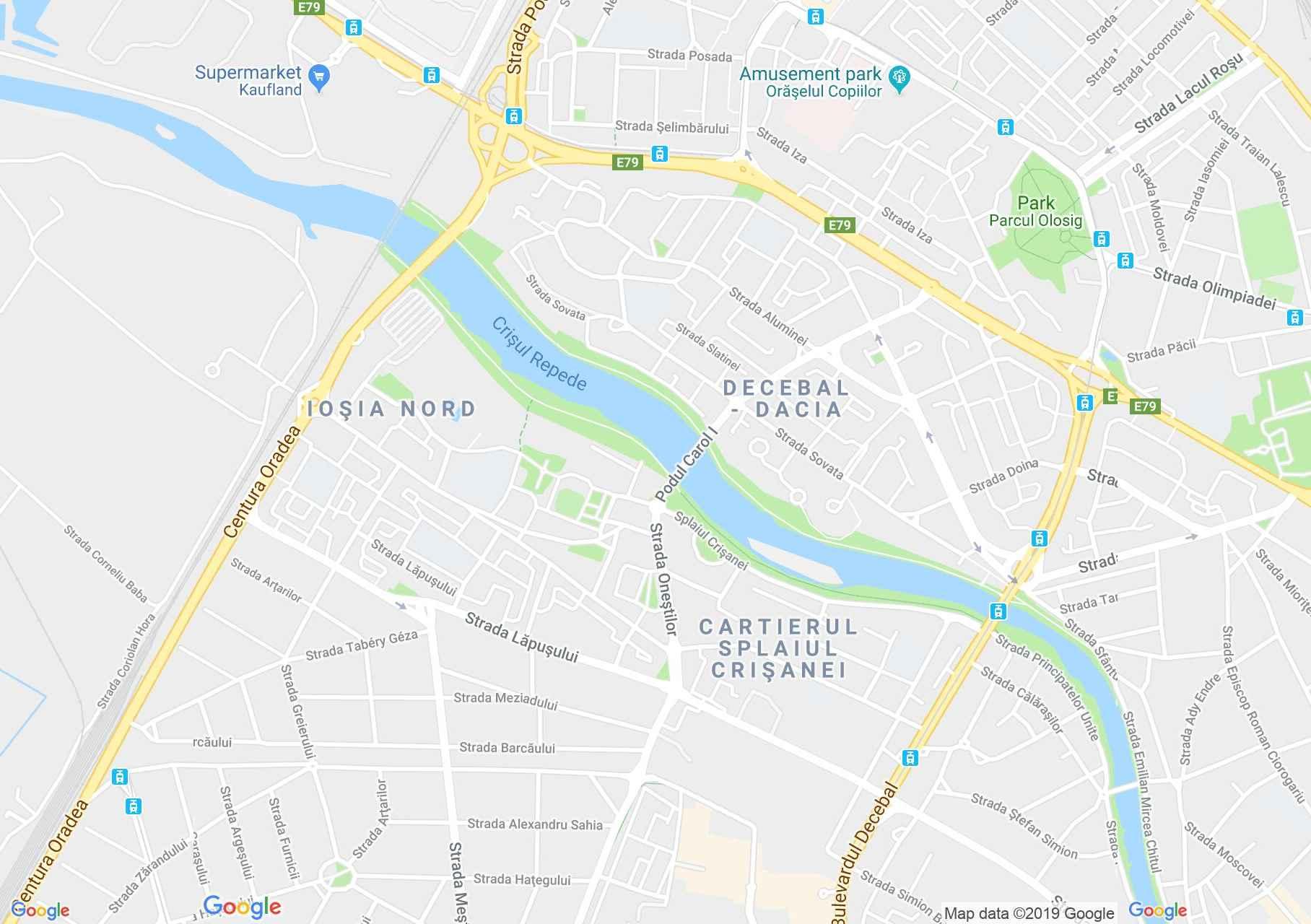 Hartă Oradea: Salonul T'adore