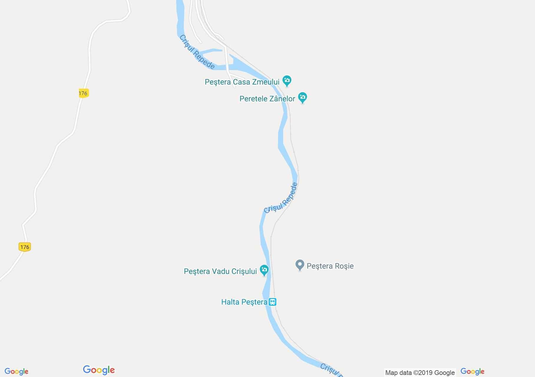 Rév: Körösrévi vízesés (térkép)