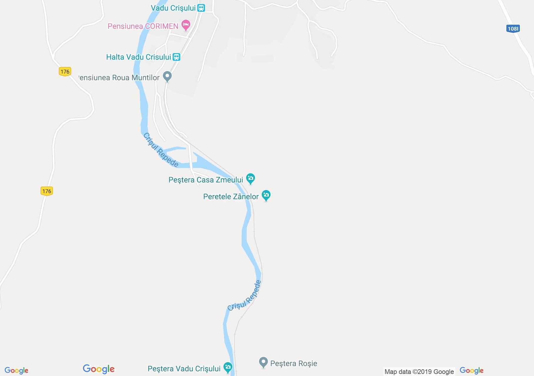 Rév: Vizes barlang (térkép)