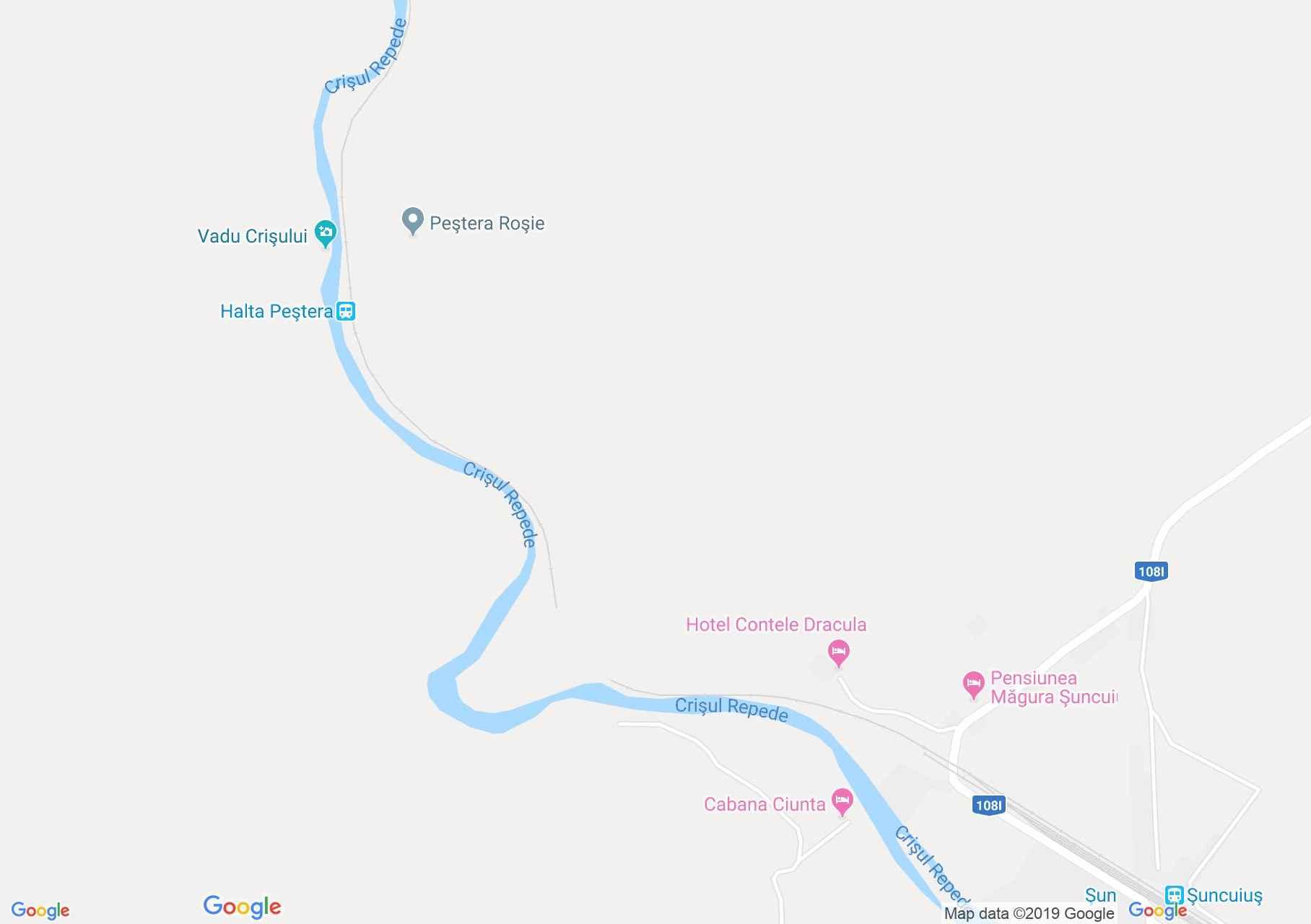 Rév: Kakasbánya barlang (térkép)