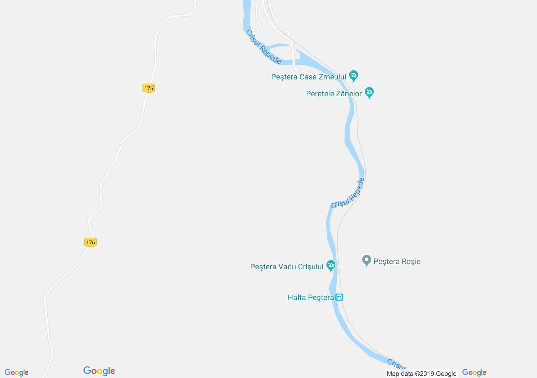 Rév: A völgy baloldali körútja (térkép)