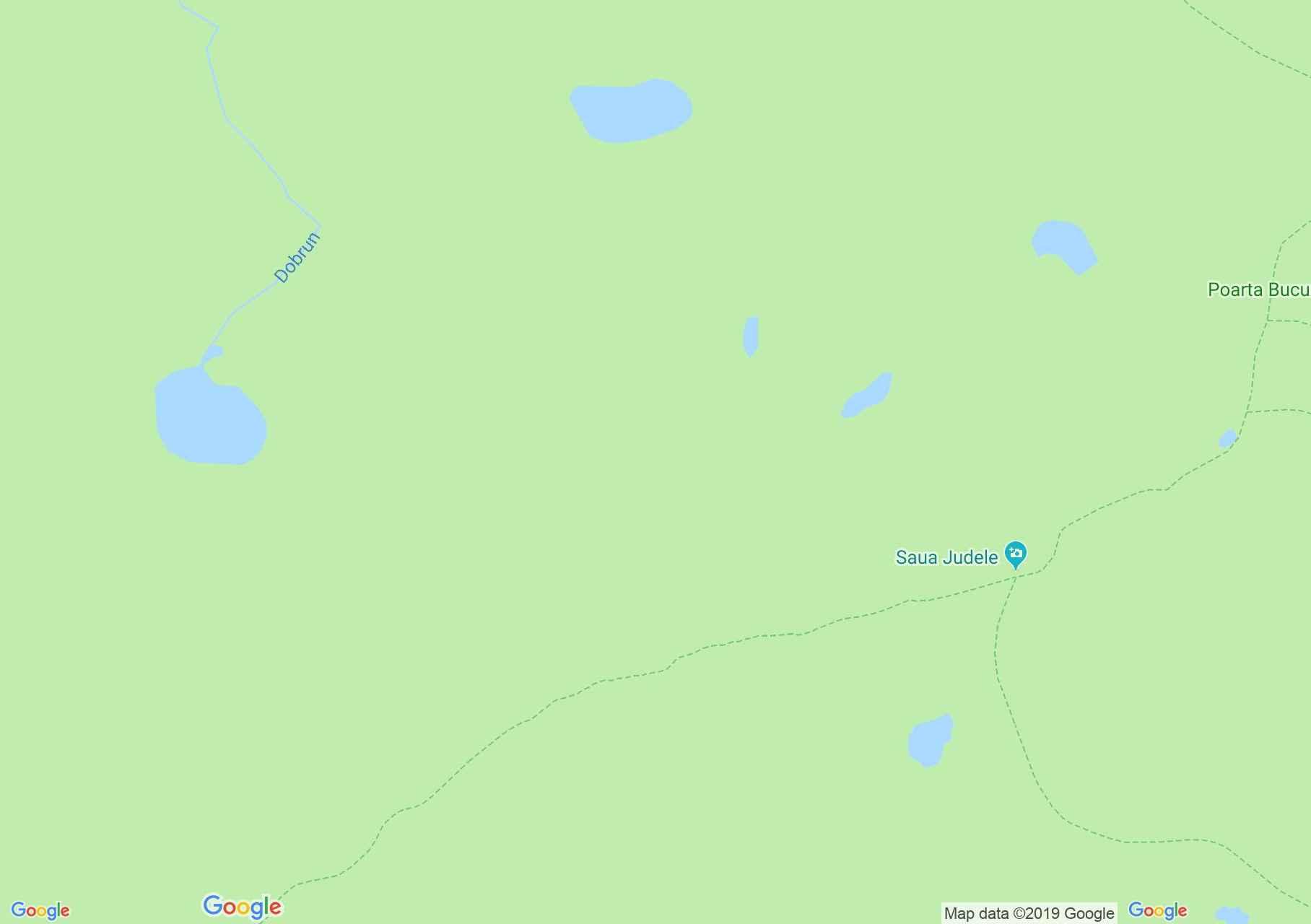 Retyezát hegység: Bucura tó - Zănoaga tó (térkép)