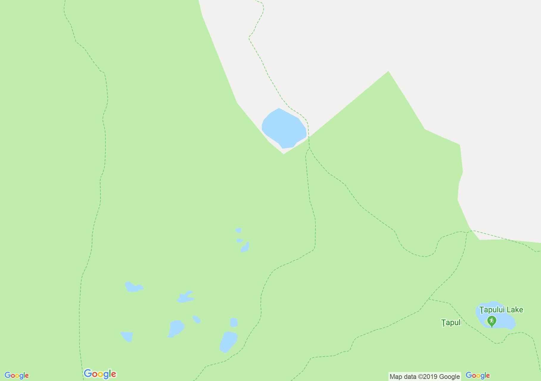 Retyezát hegység: Gales tó - Peleága nyereg (térkép)