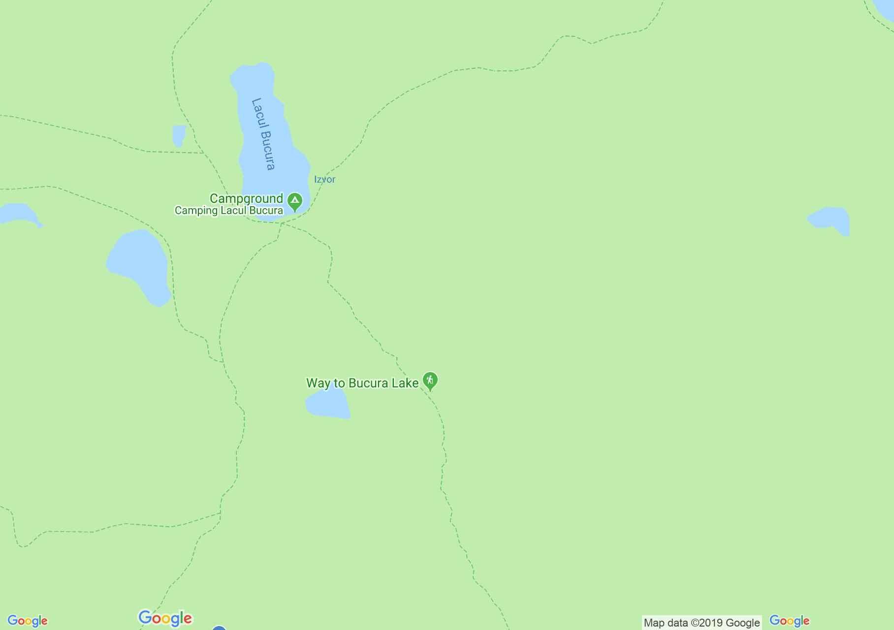 Hartă Muntii Retezat: Lacul Bucura-Câmpul lui Neag
