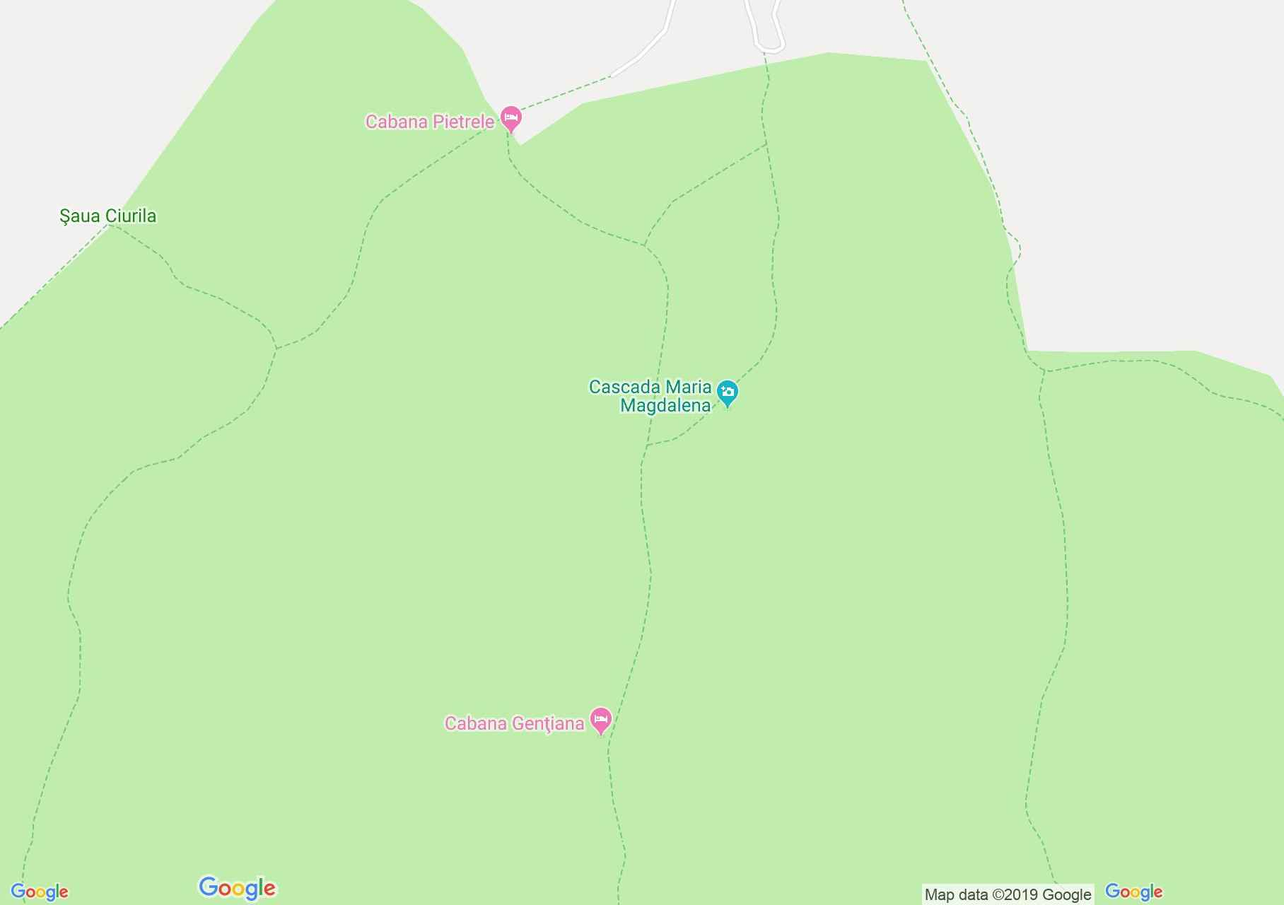 Retyezát hegység: Pietrele menedékház - Bucura tó (térkép)