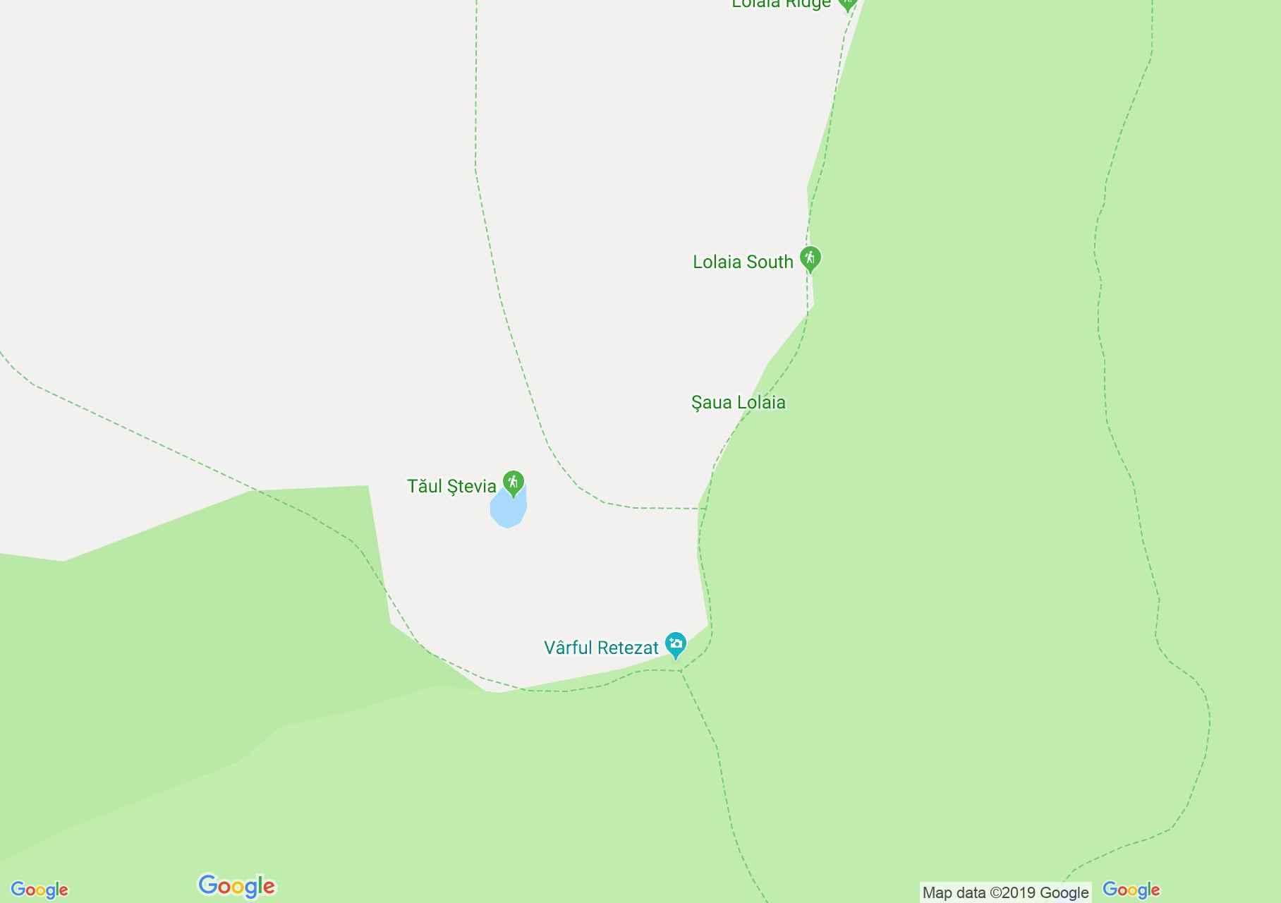 Retyezát hegység: Retezát csúcs (térkép)