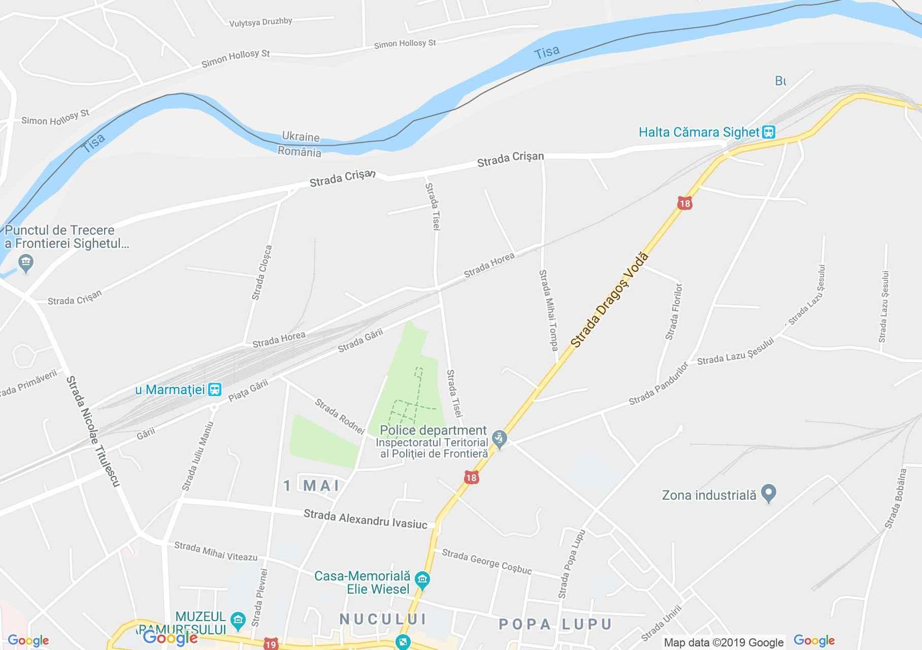 Hartă Sighetu Marmaţiei: Vila Groedel