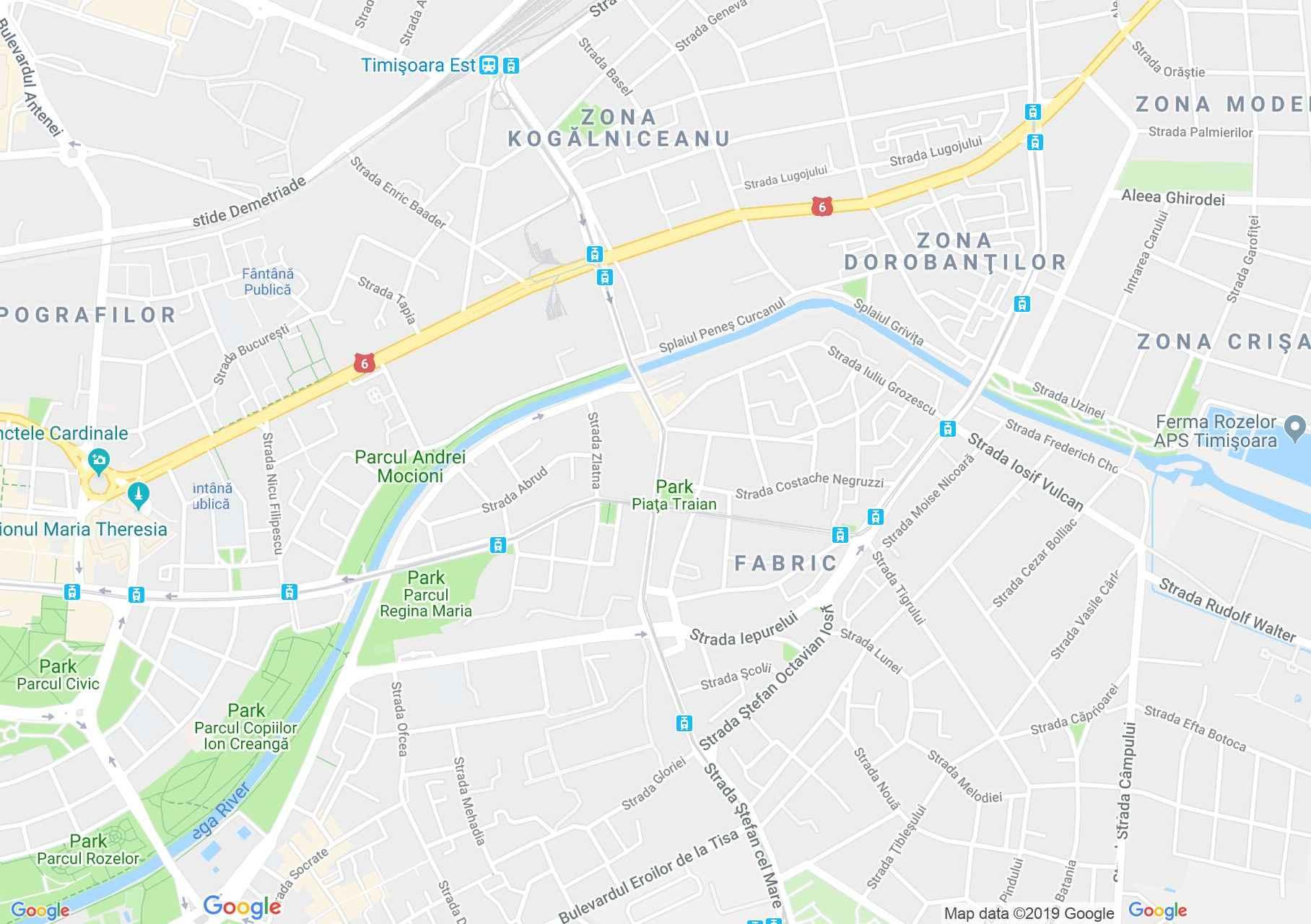 Temesvár: Sörgyár (térkép)