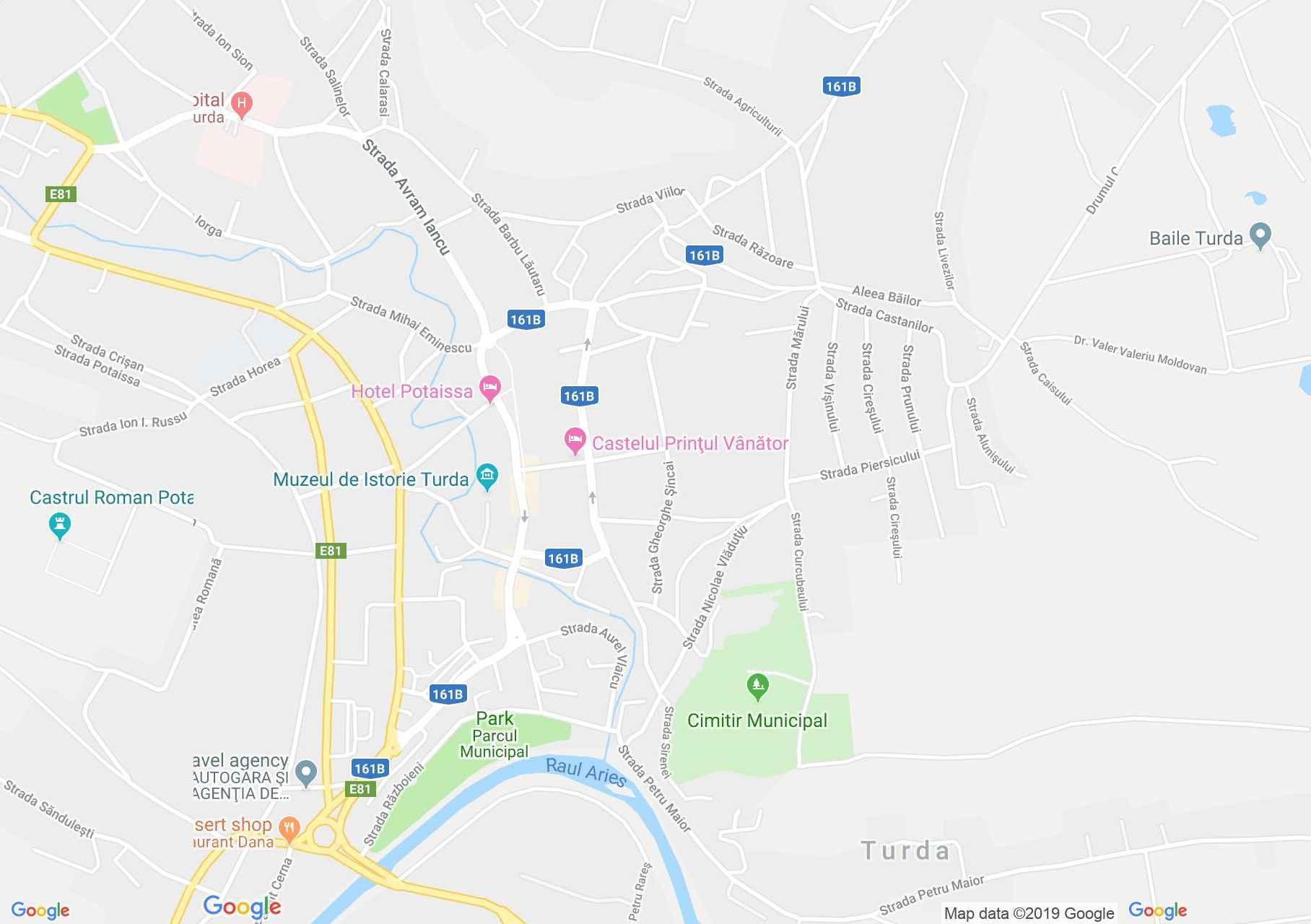 Torda: Románok közt ortodox templom (térkép)