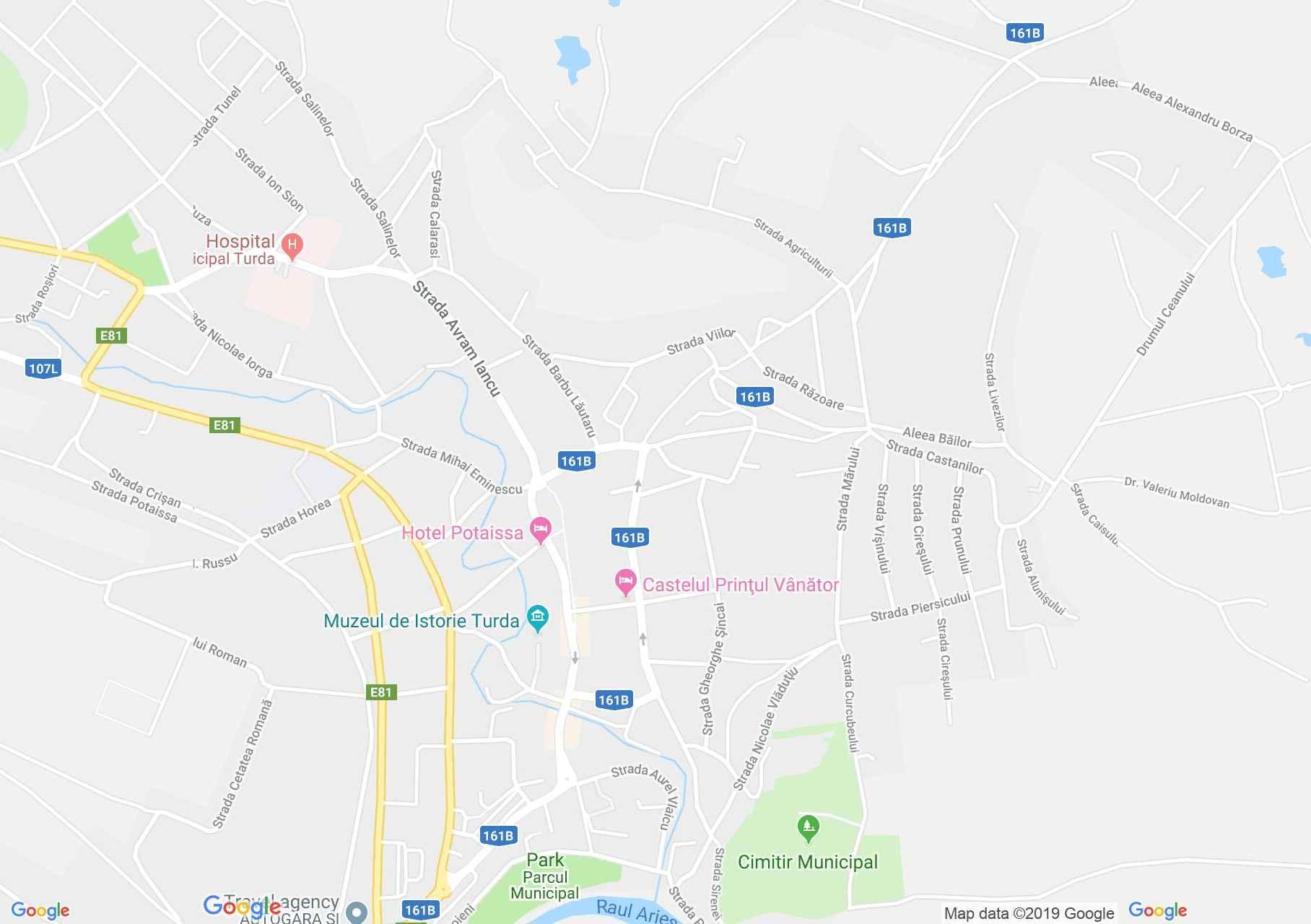 Torda: A Raţiu család temploma (térkép)