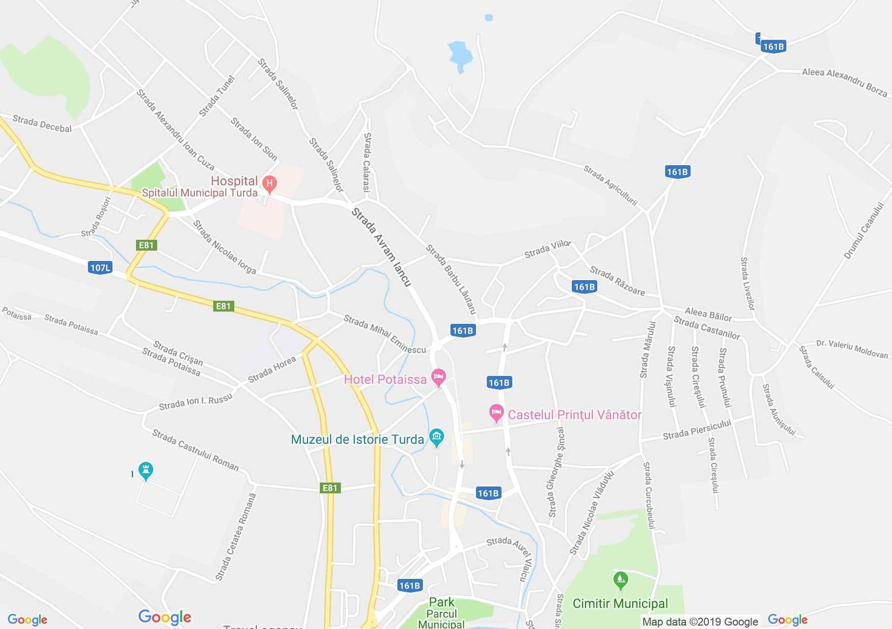 Torda: Ótorda református temploma (térkép)