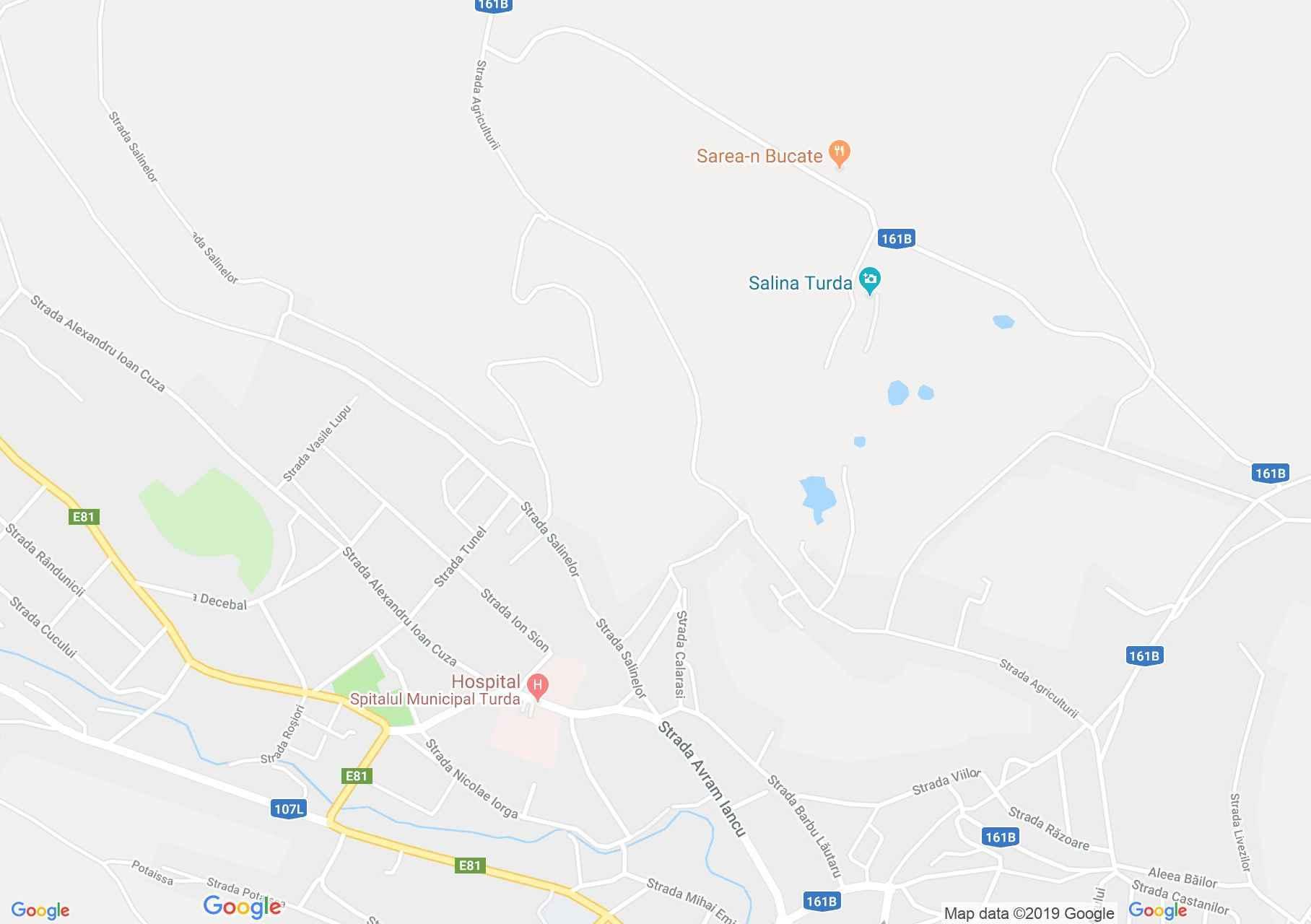 Torda: Sóvágók temploma (térkép)