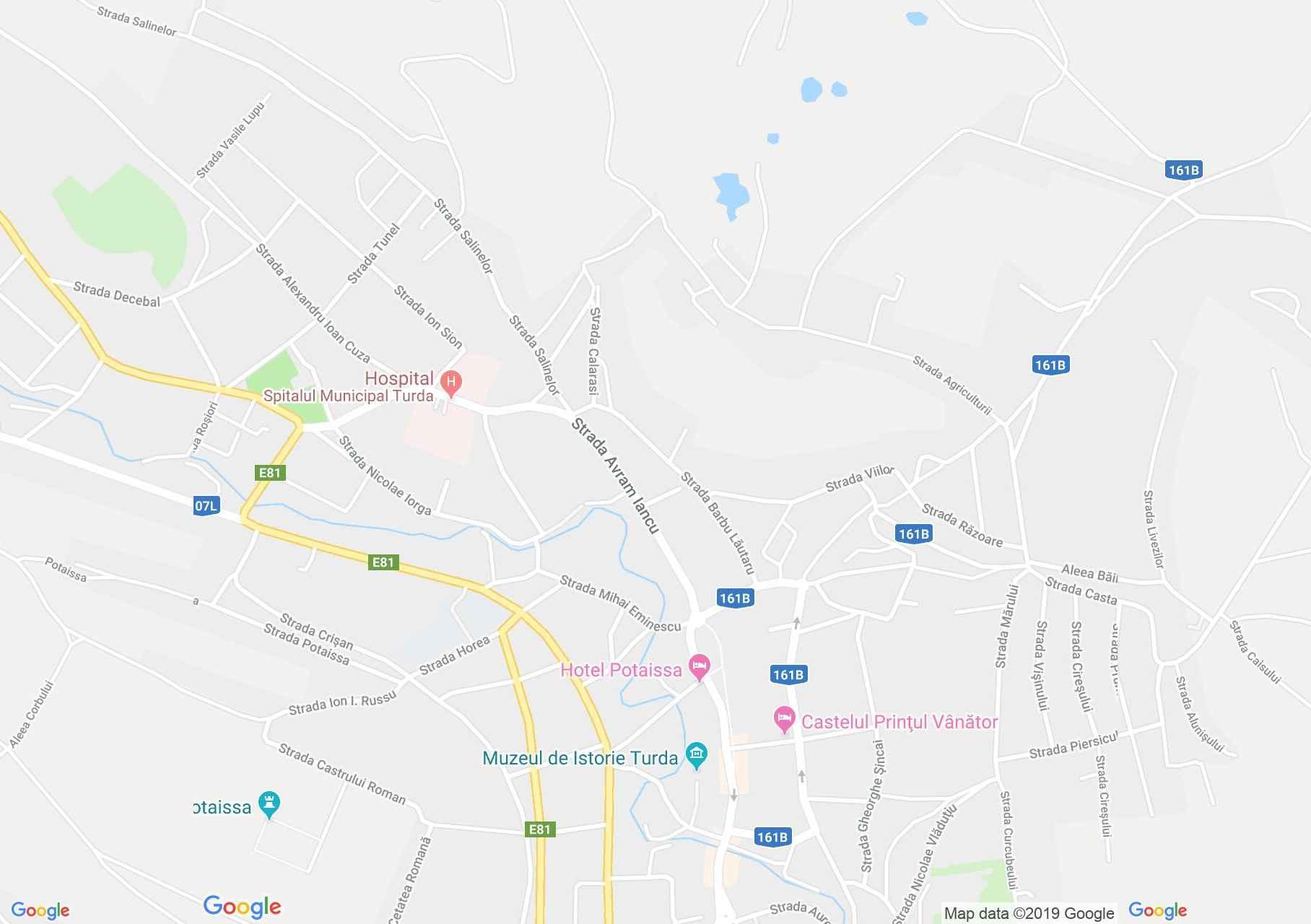 Hartă Turda: Biserica Unitariană
