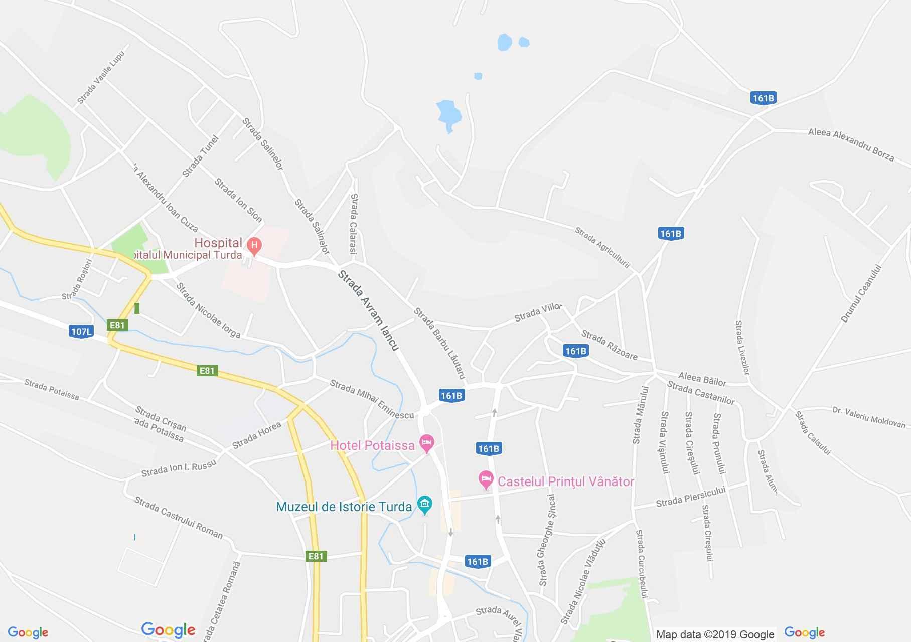 Torda: Téglás ház (térkép)