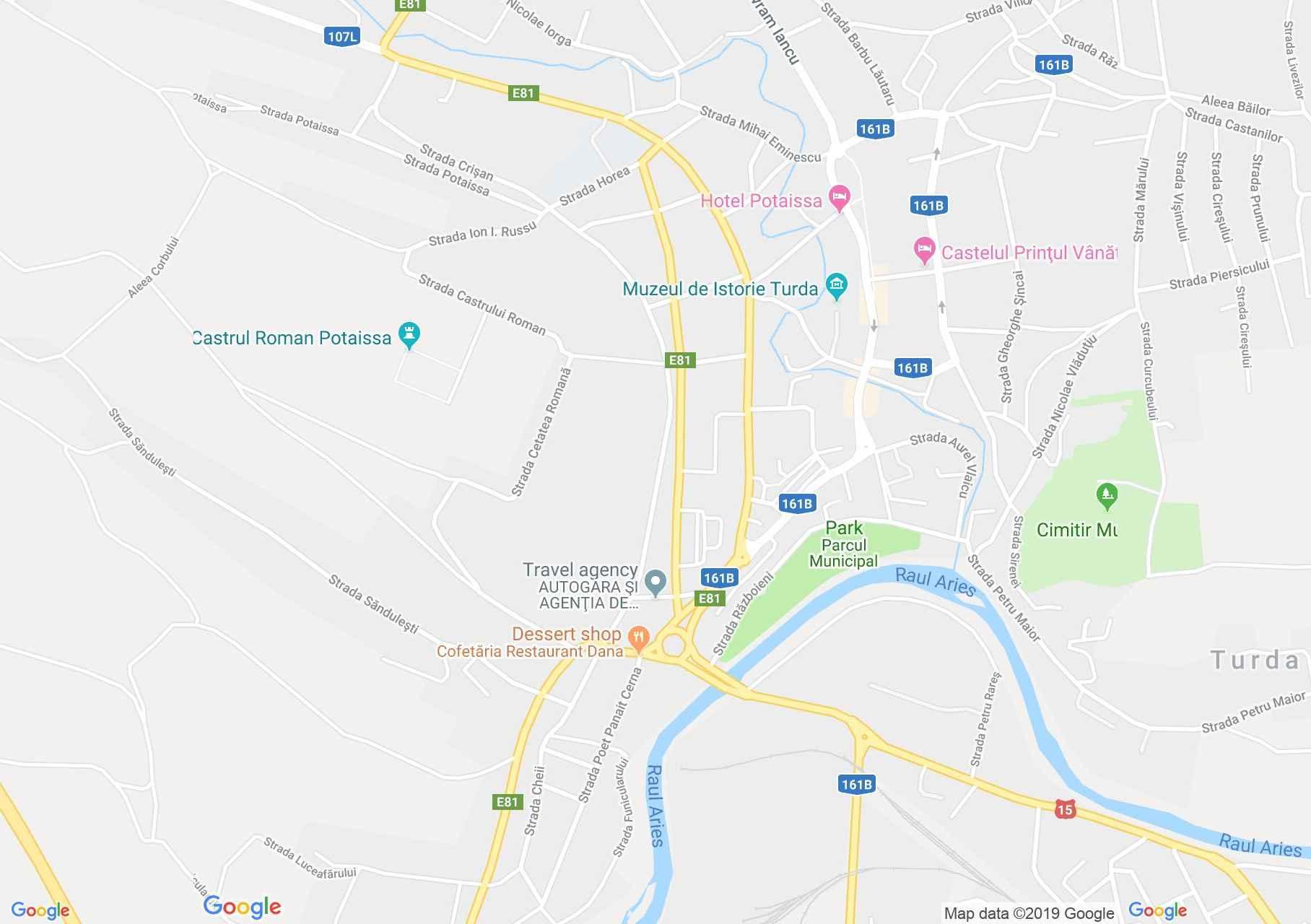 Map of Turda: Beer Factory