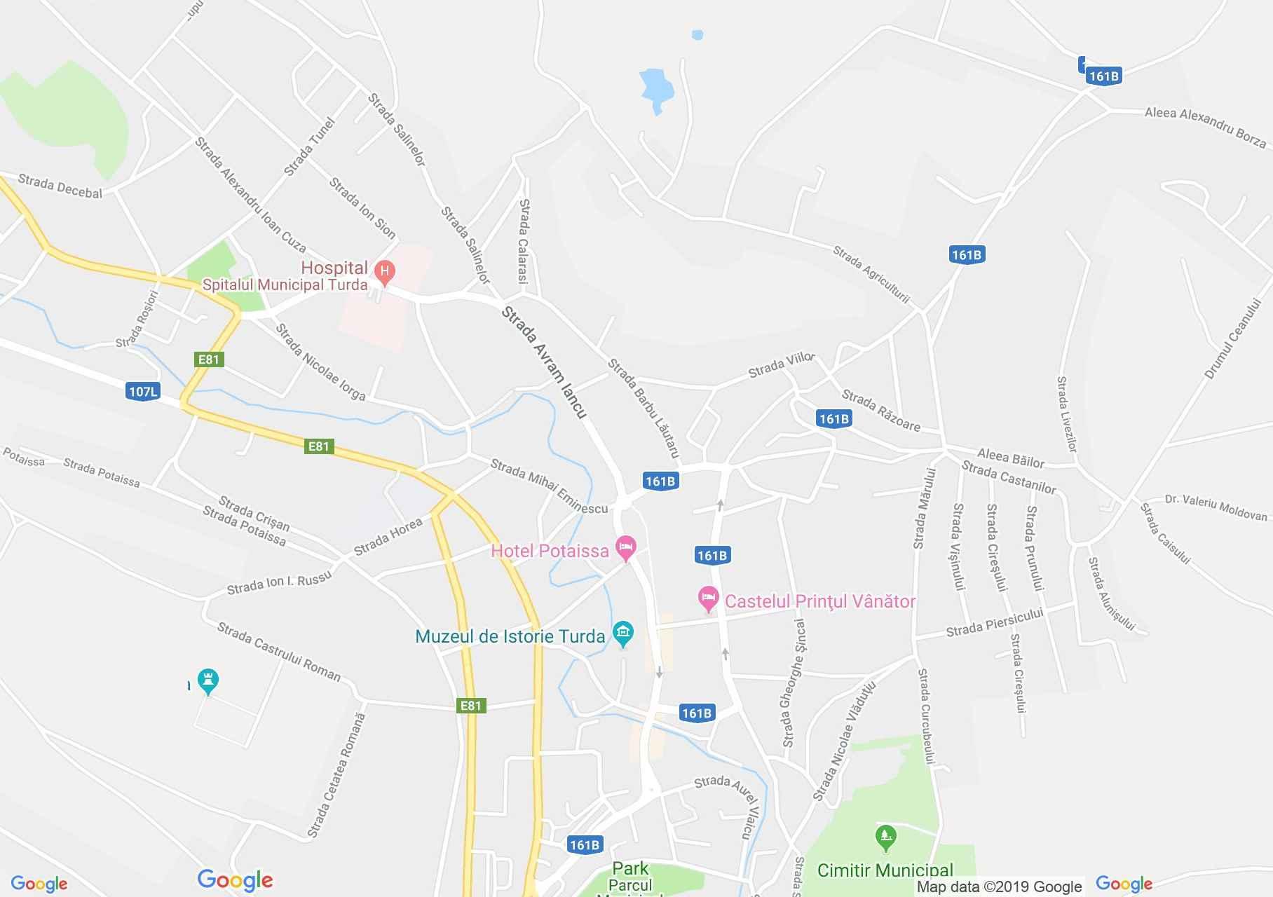 Hartă Turda: Lapidariul