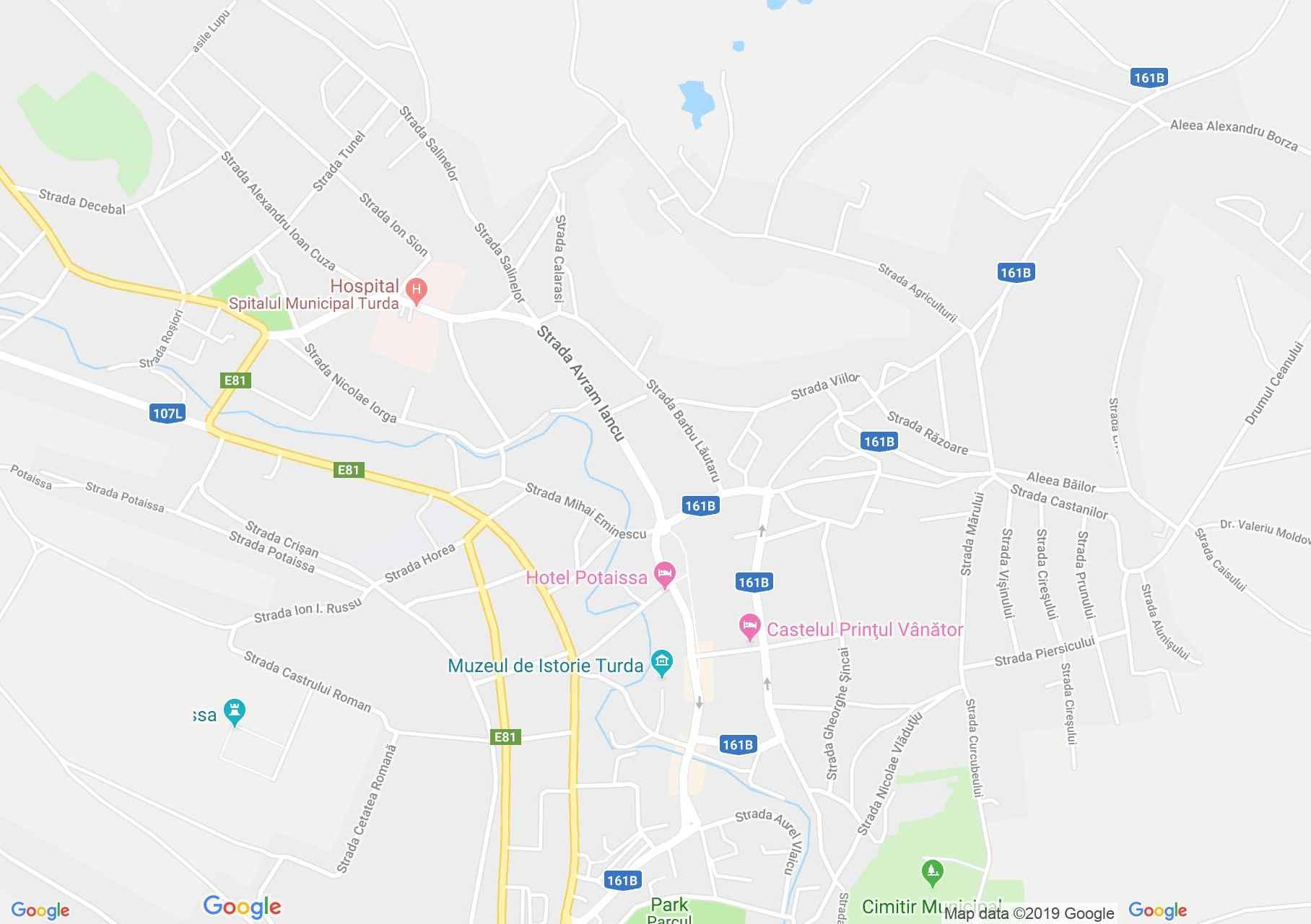 Torda: Történelmi Múzeum (térkép)