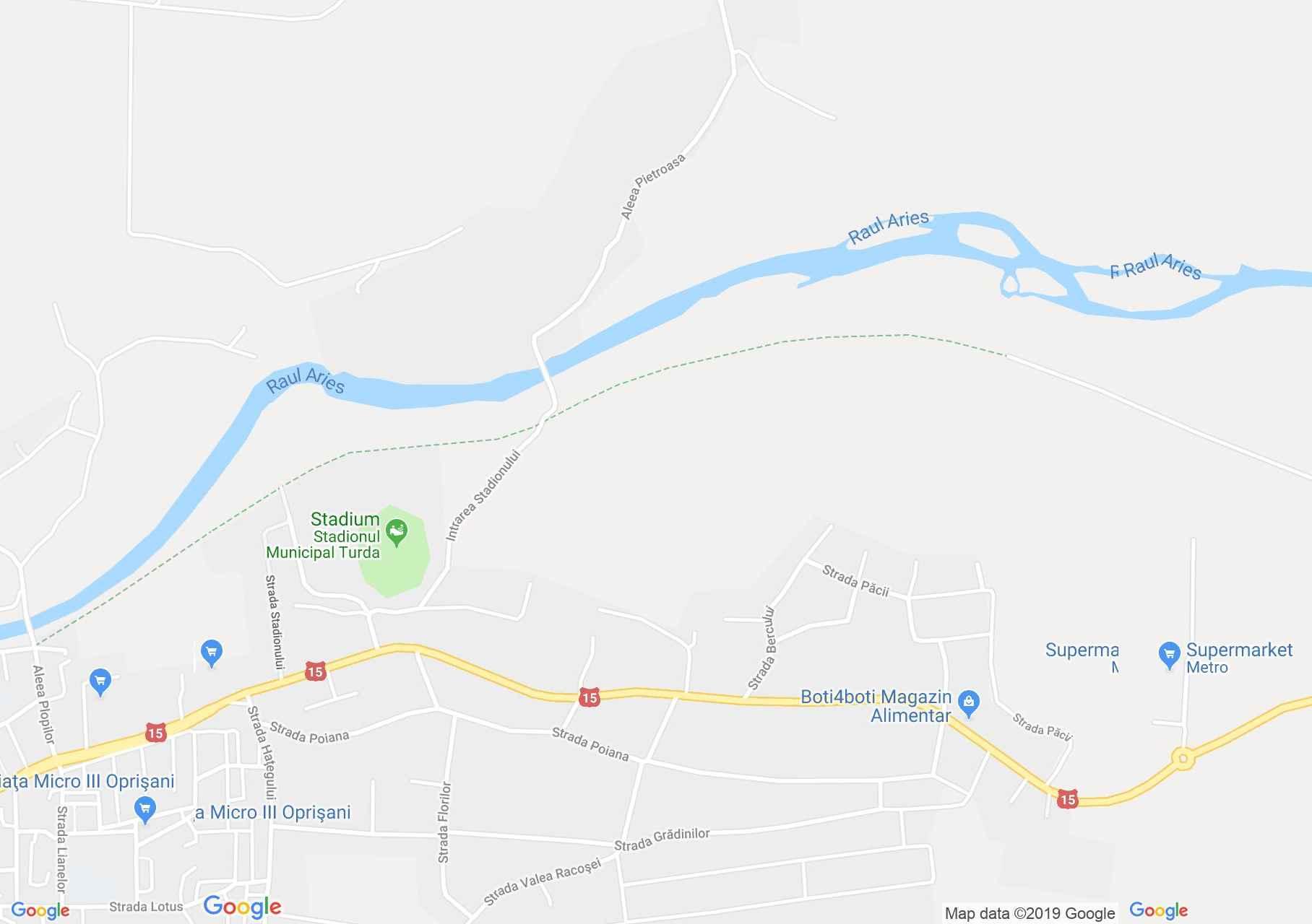Torda: Aranyospolyán Görög-katolikus templom (térkép)