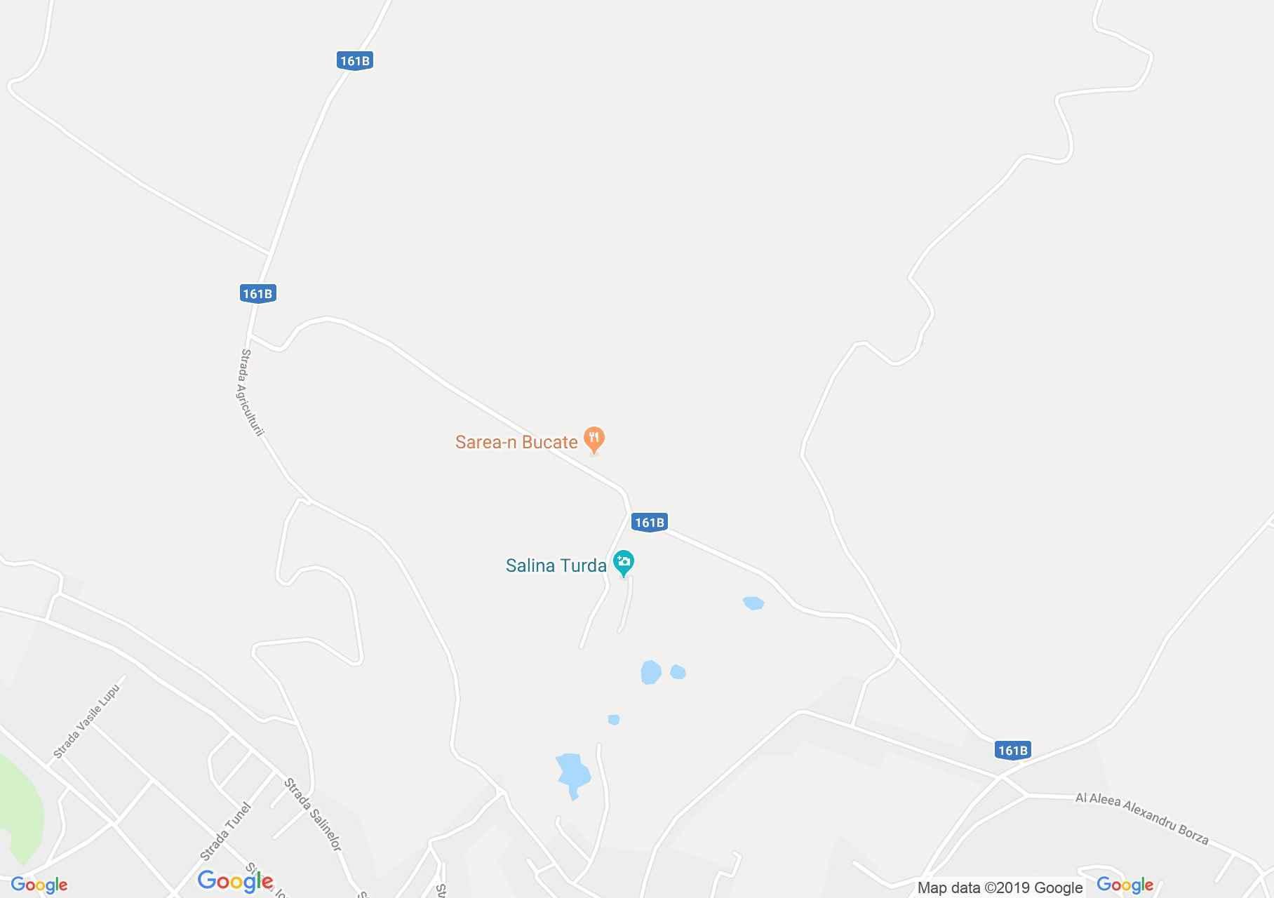 Torda: Tordai sóbánya (térkép)